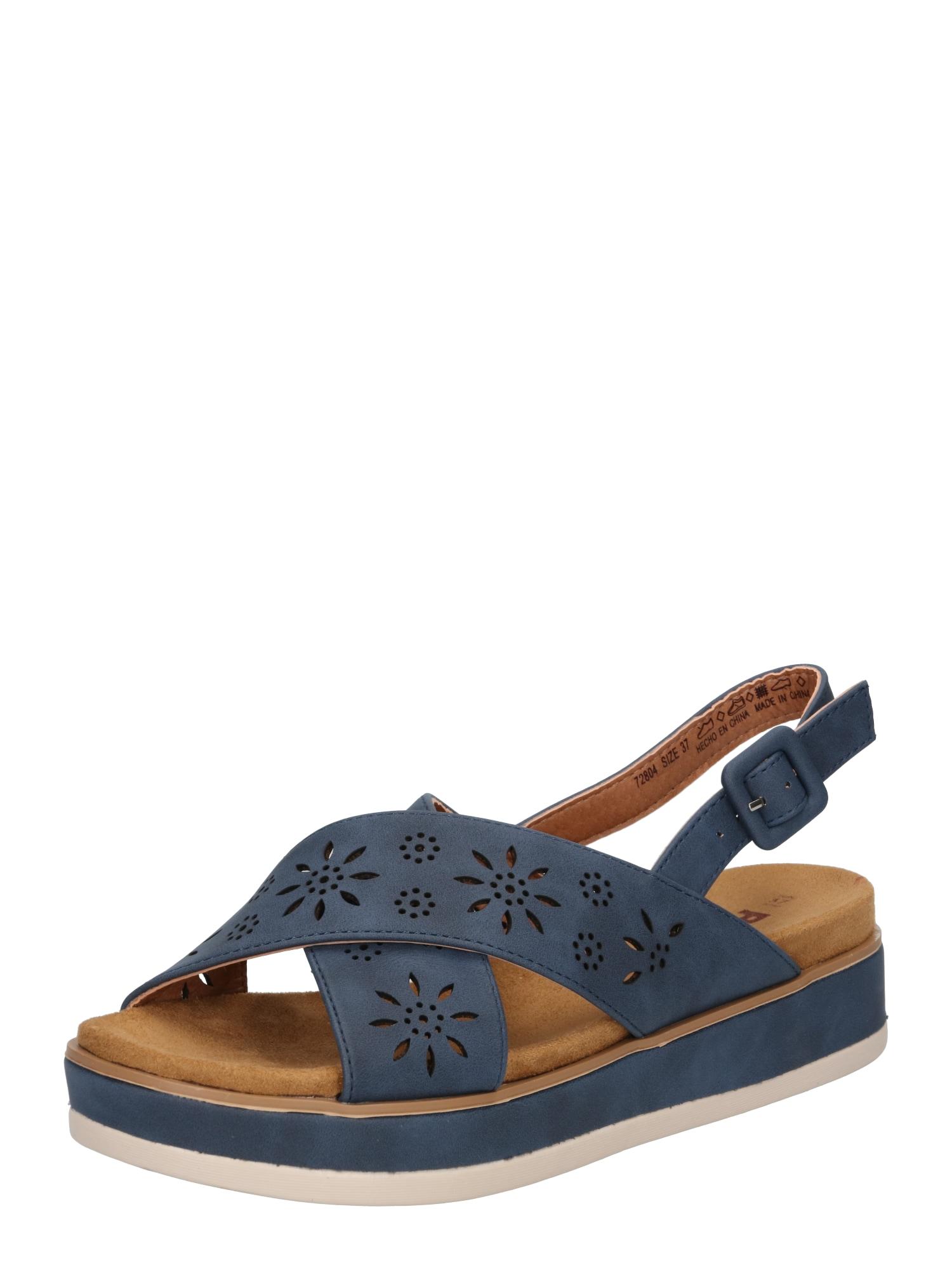 Refresh Sandalai tamsiai mėlyna