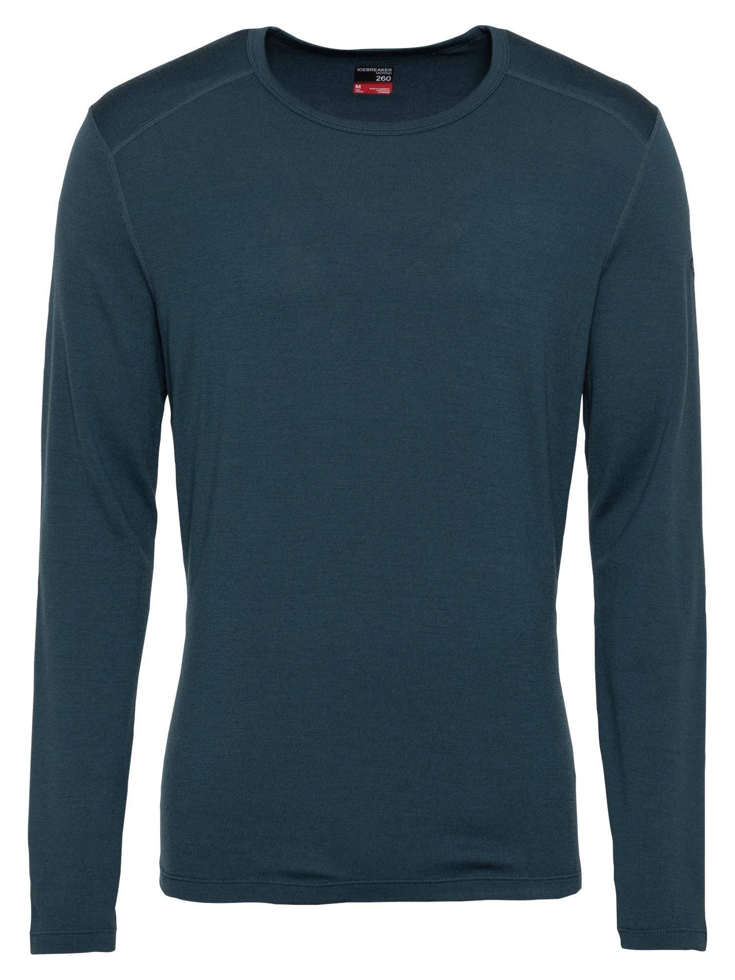 Icebreaker Sportiniai apatiniai marškinėliai tamsiai mėlyna