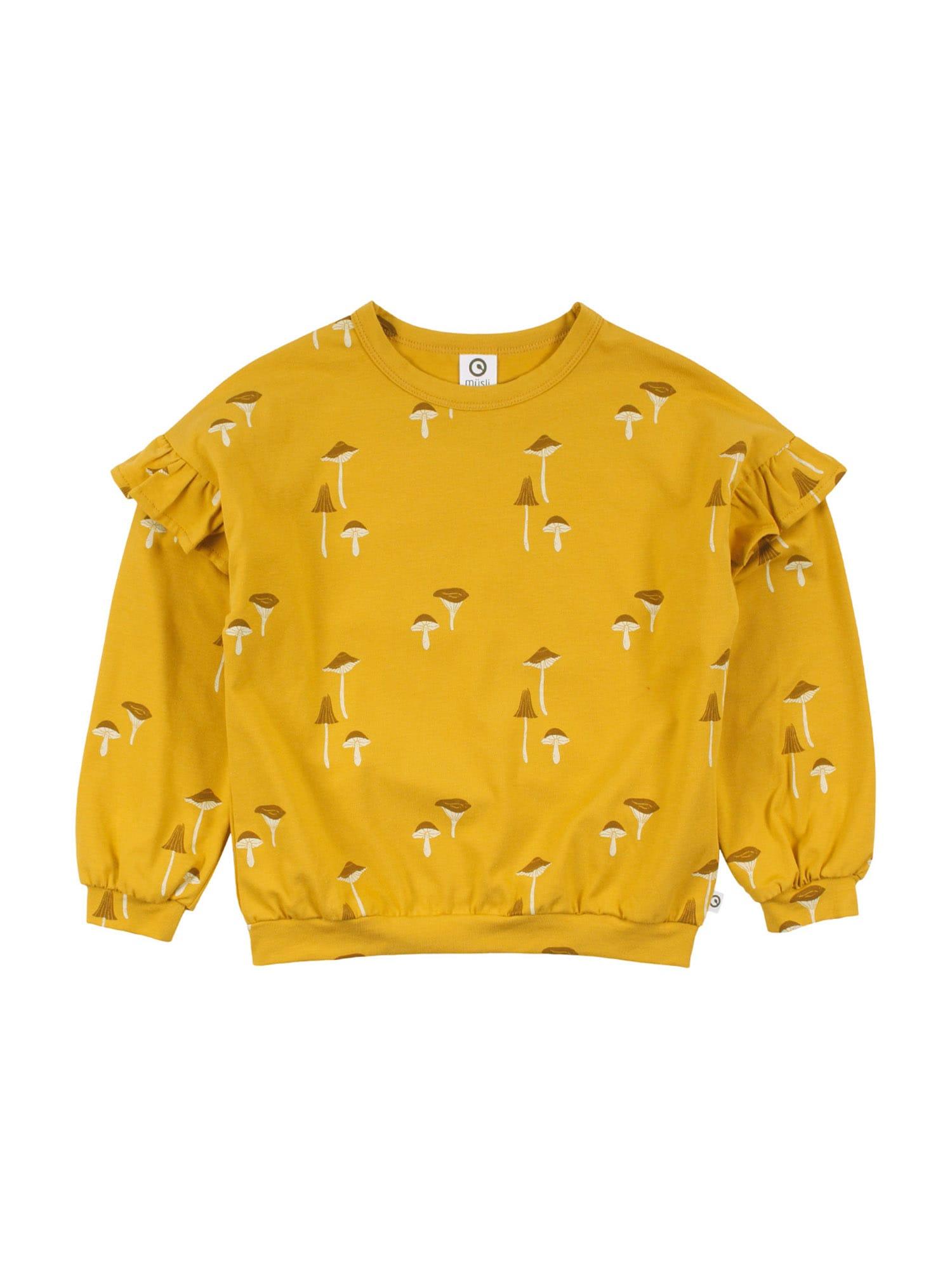 Müsli by GREEN COTTON Marškinėliai geltona / ruda / balta