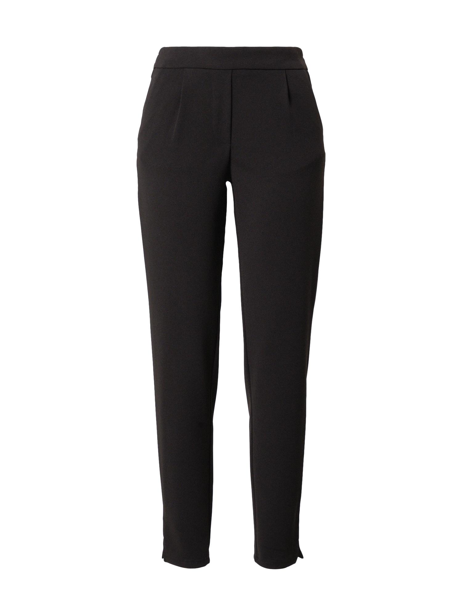 JACQUELINE de YONG Kalhoty se sklady v pase 'Gini'  černá