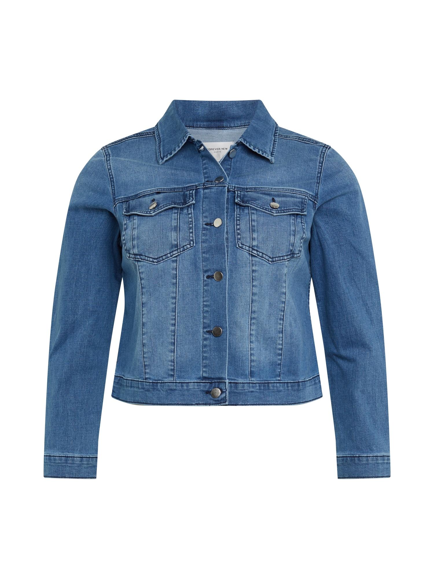 Forever New Demisezoninė striukė 'Annie' tamsiai (džinso) mėlyna