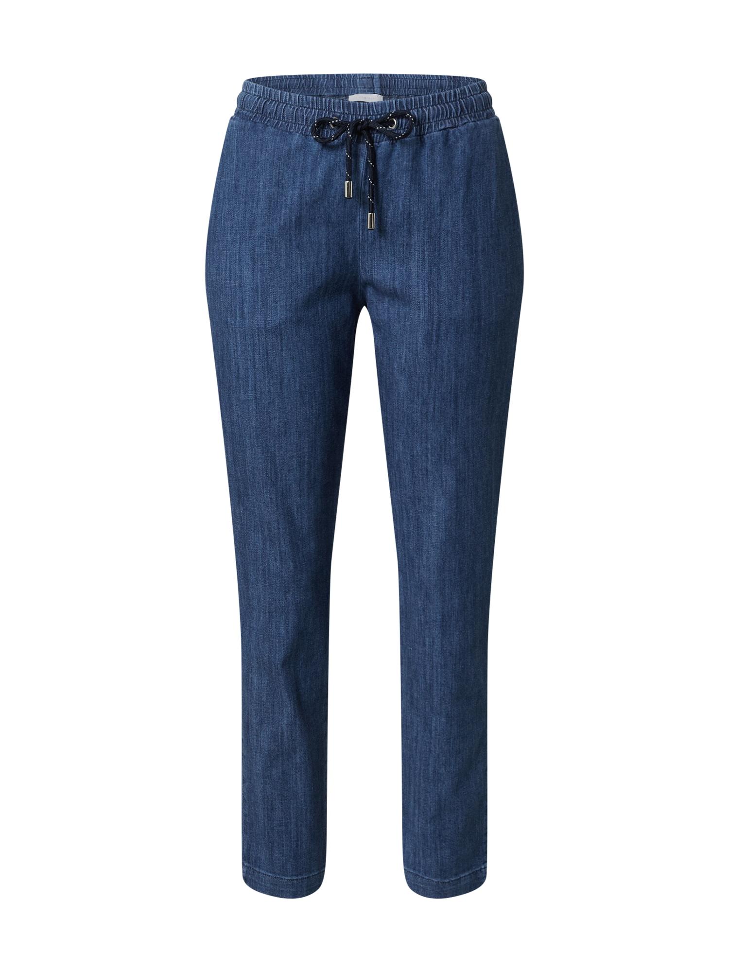 Rich & Royal Kelnės tamsiai (džinso) mėlyna
