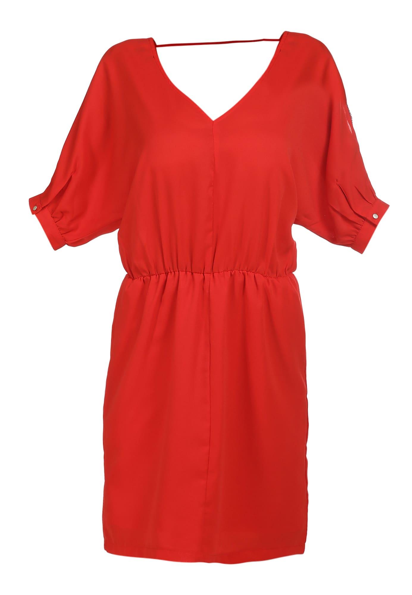 faina Vasarinė suknelė raudona