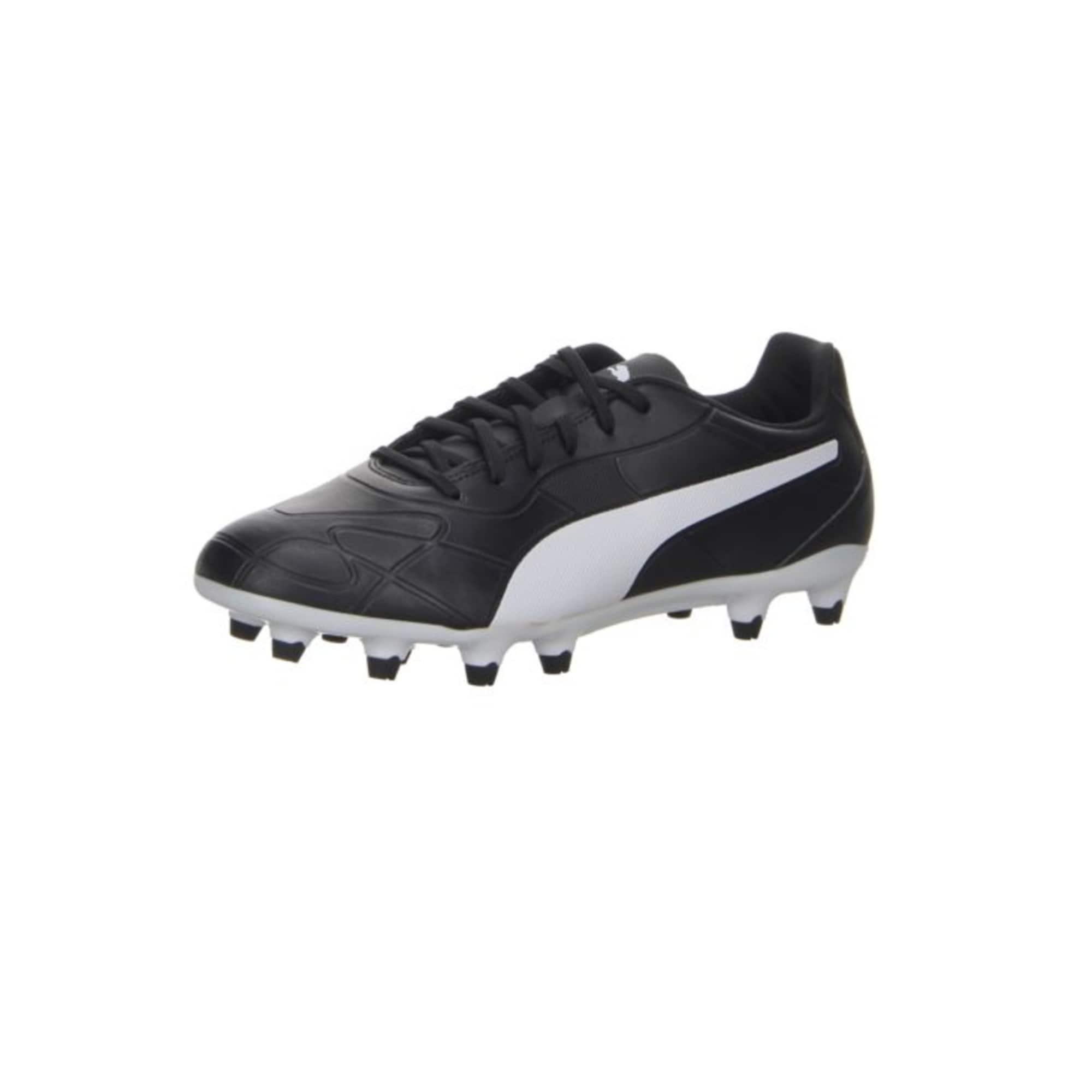 PUMA Futbolo bateliai juoda / balta