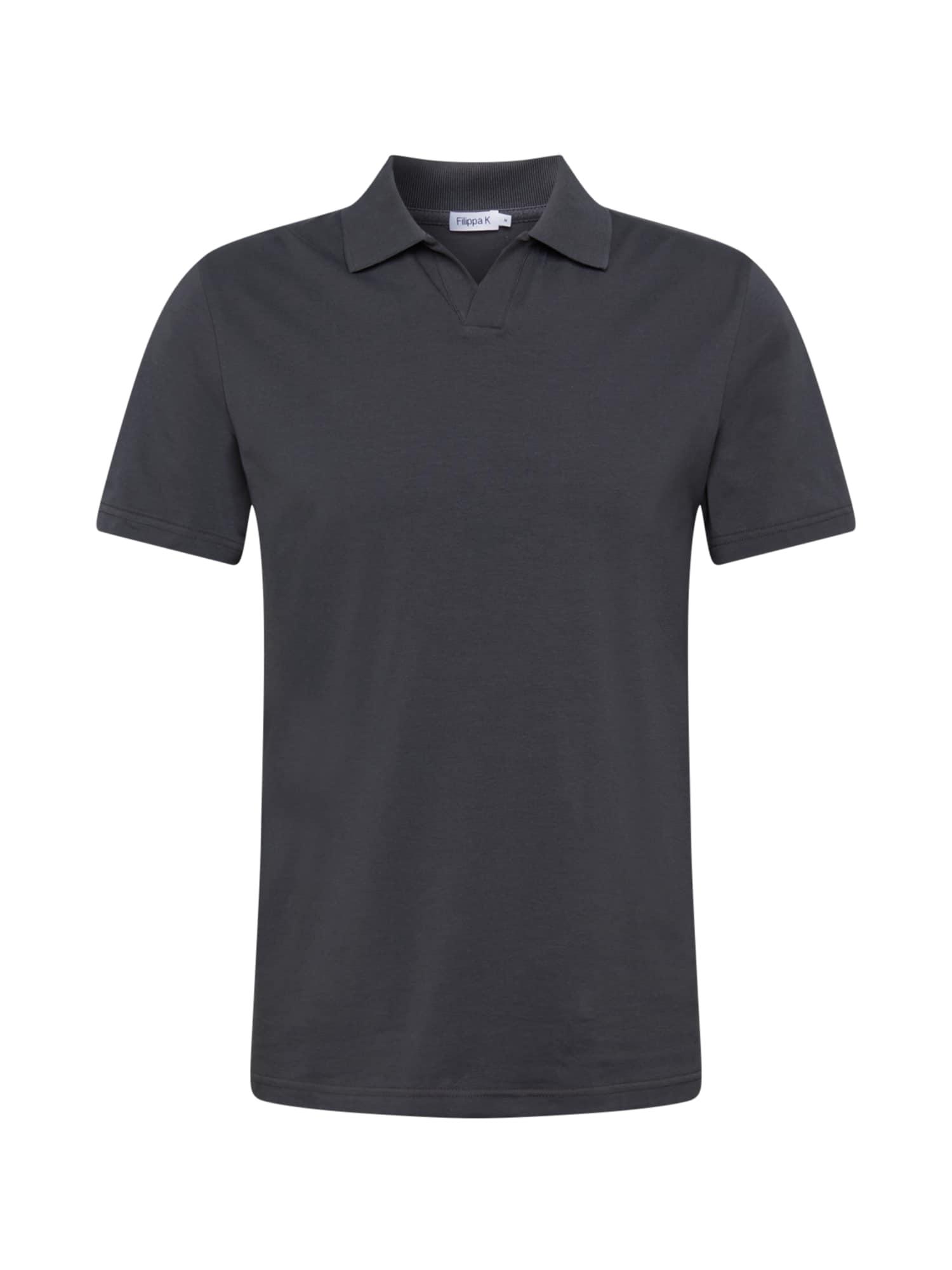 Filippa K Marškinėliai tamsiai pilka