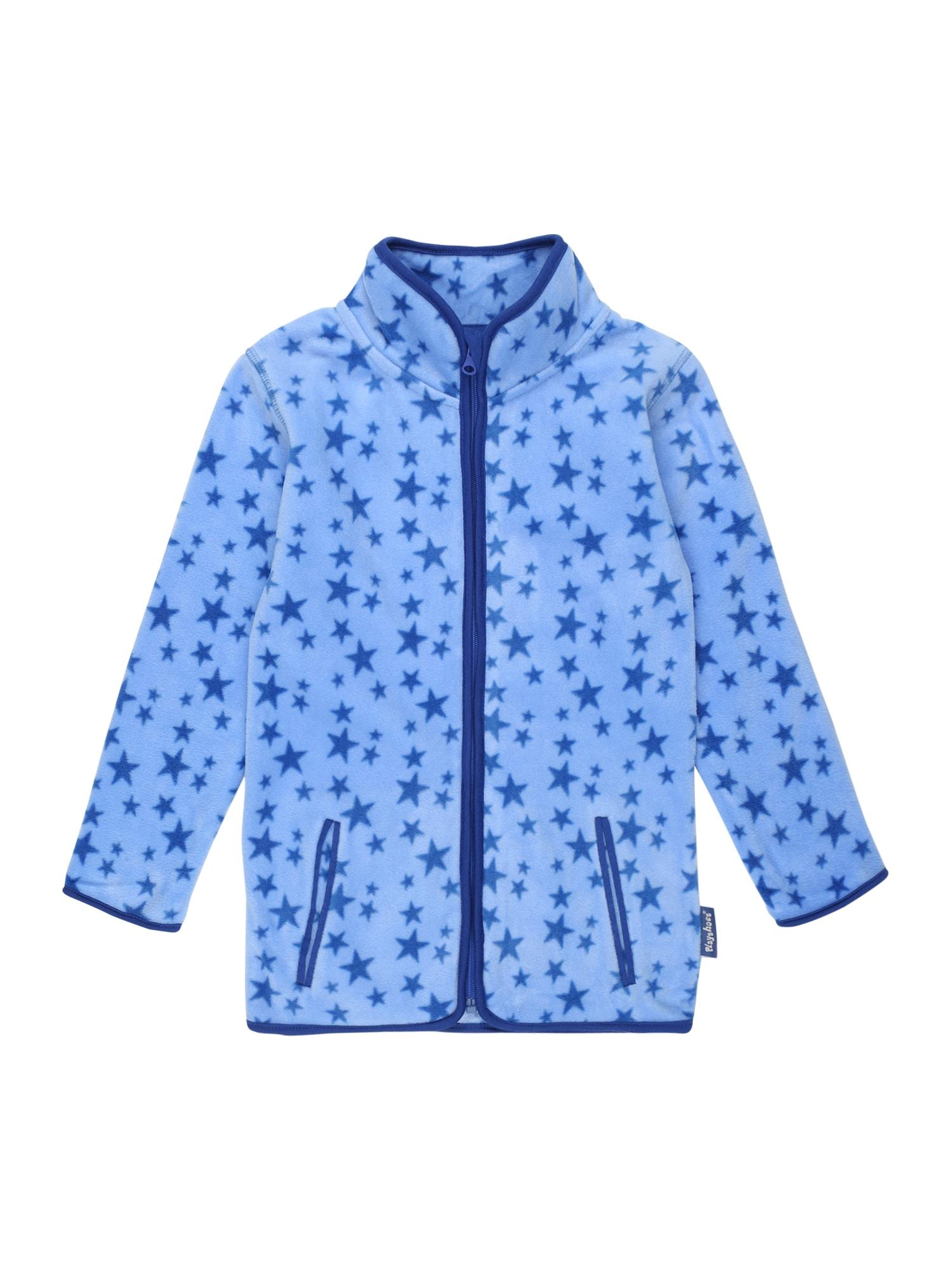 PLAYSHOES Flisinis džemperis tamsiai mėlyna / šviesiai mėlyna
