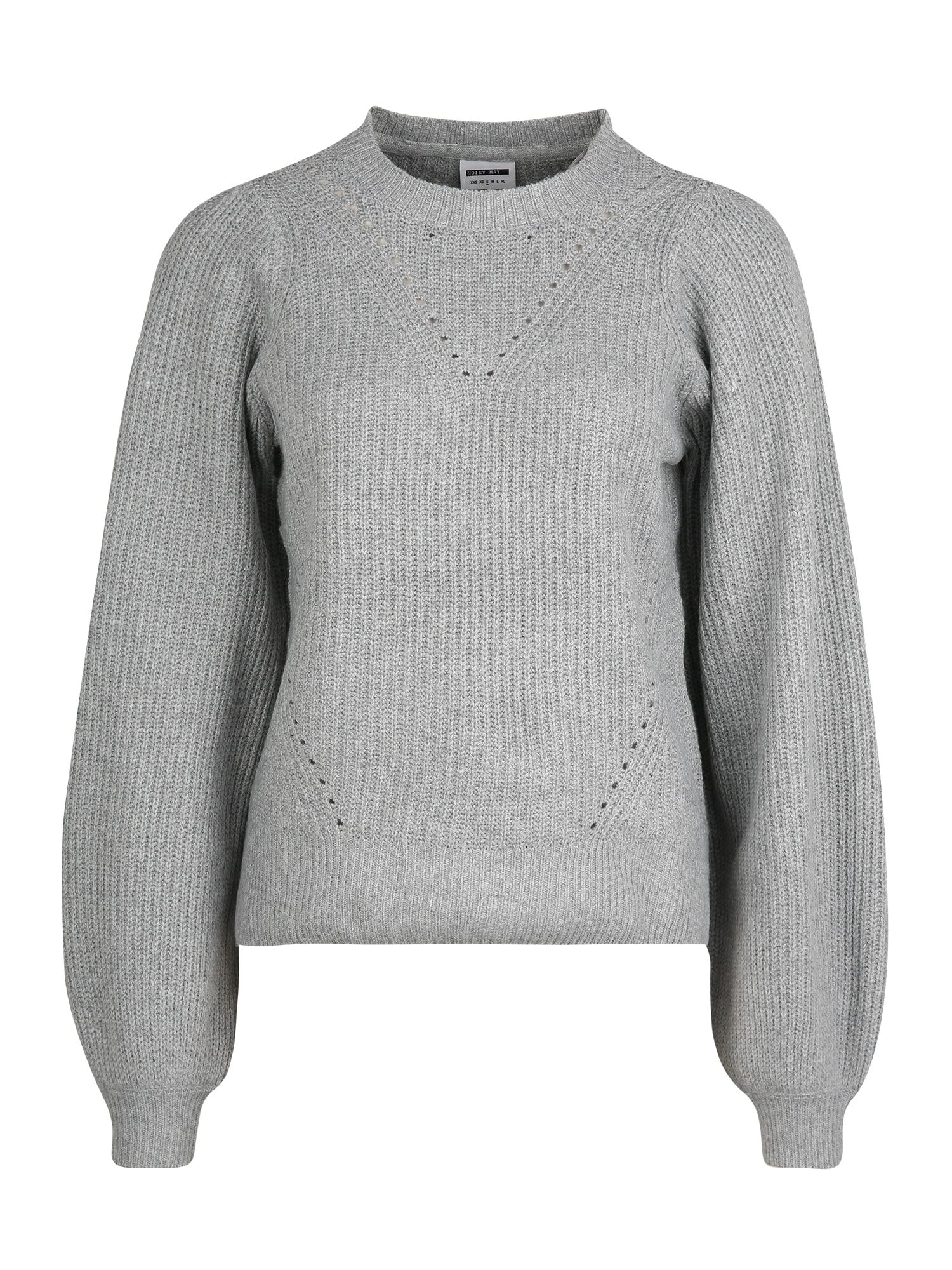 Noisy May (Tall) Megztinis šviesiai pilka / pilka