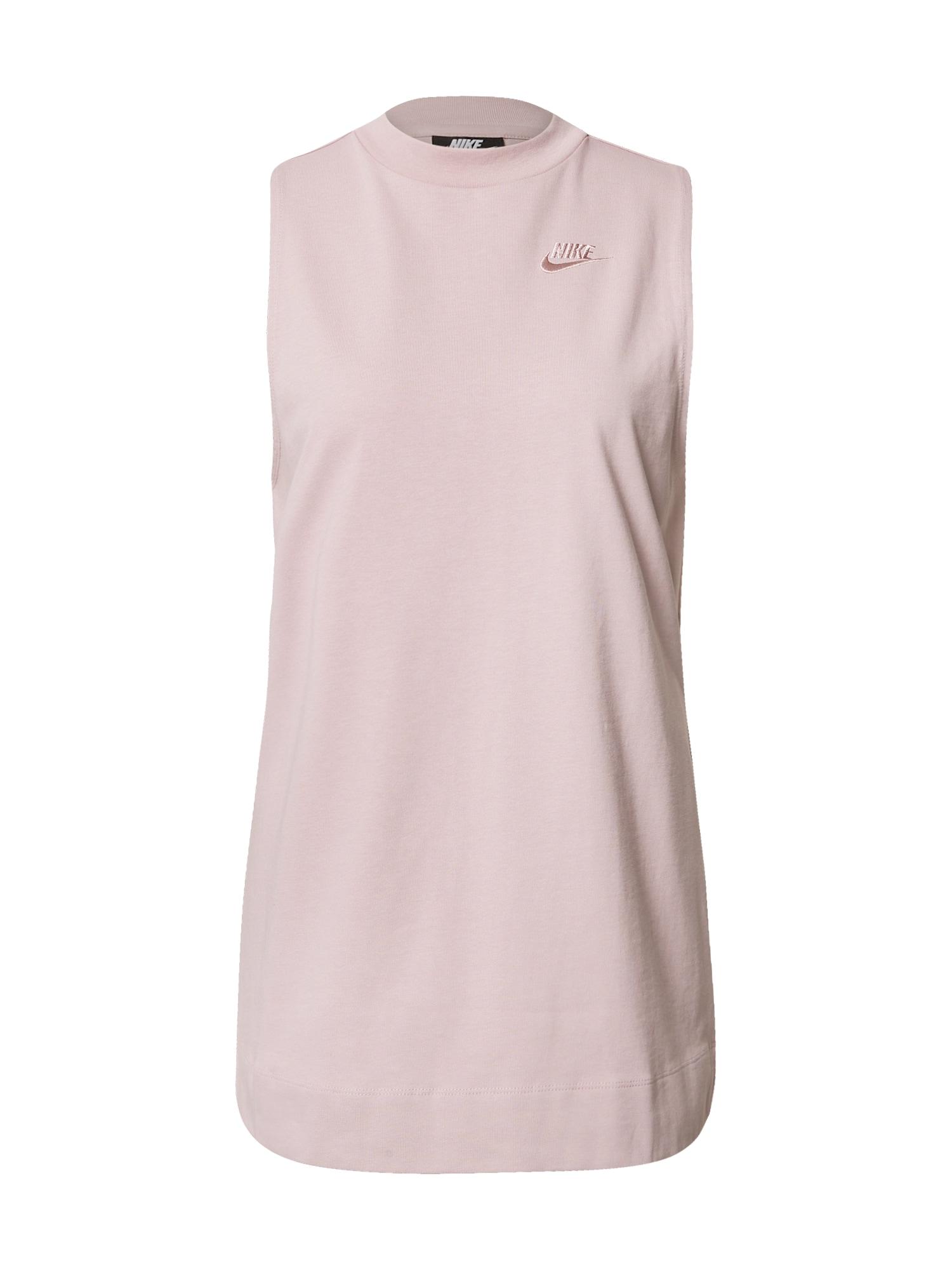 Nike Sportswear Palaidinė be rankovių purpurinė