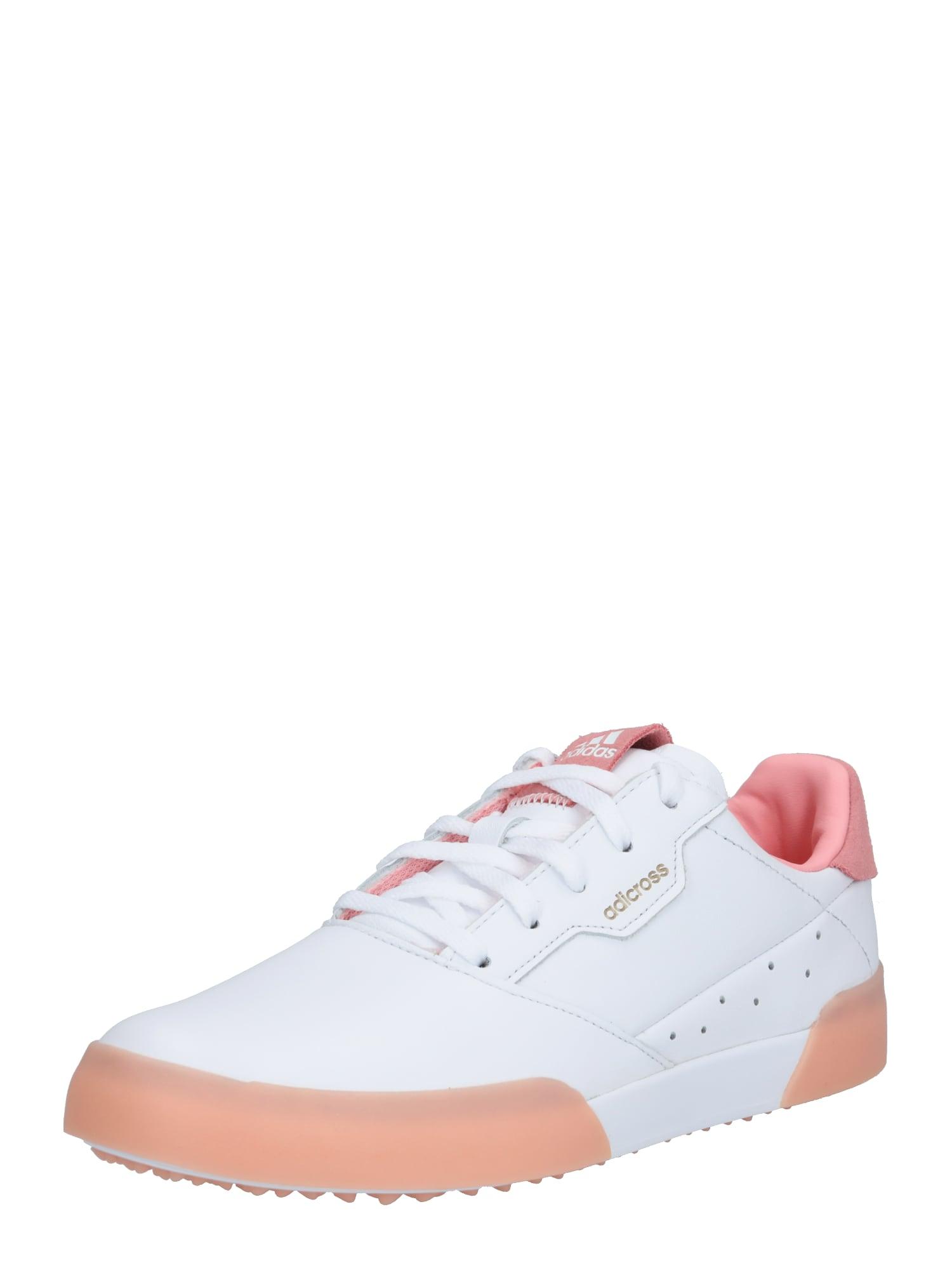adidas Golf Sportiniai batai balta / rožinė