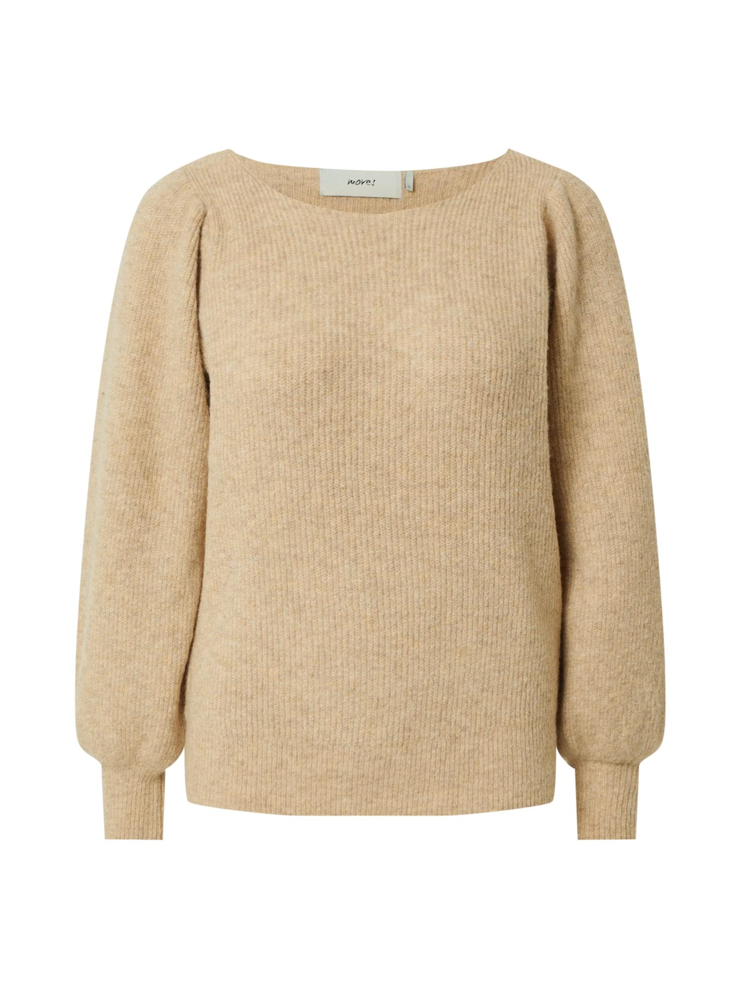 Moves Megztinis gelsvai pilka spalva
