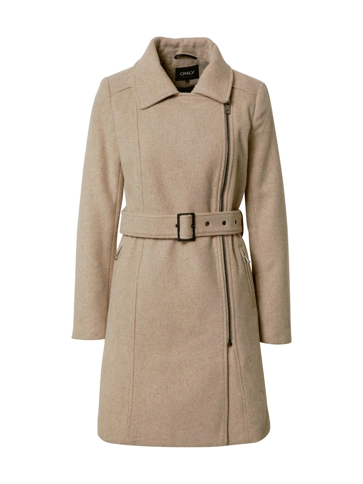 ONLY Přechodný kabát 'Olivia'  světle béžová