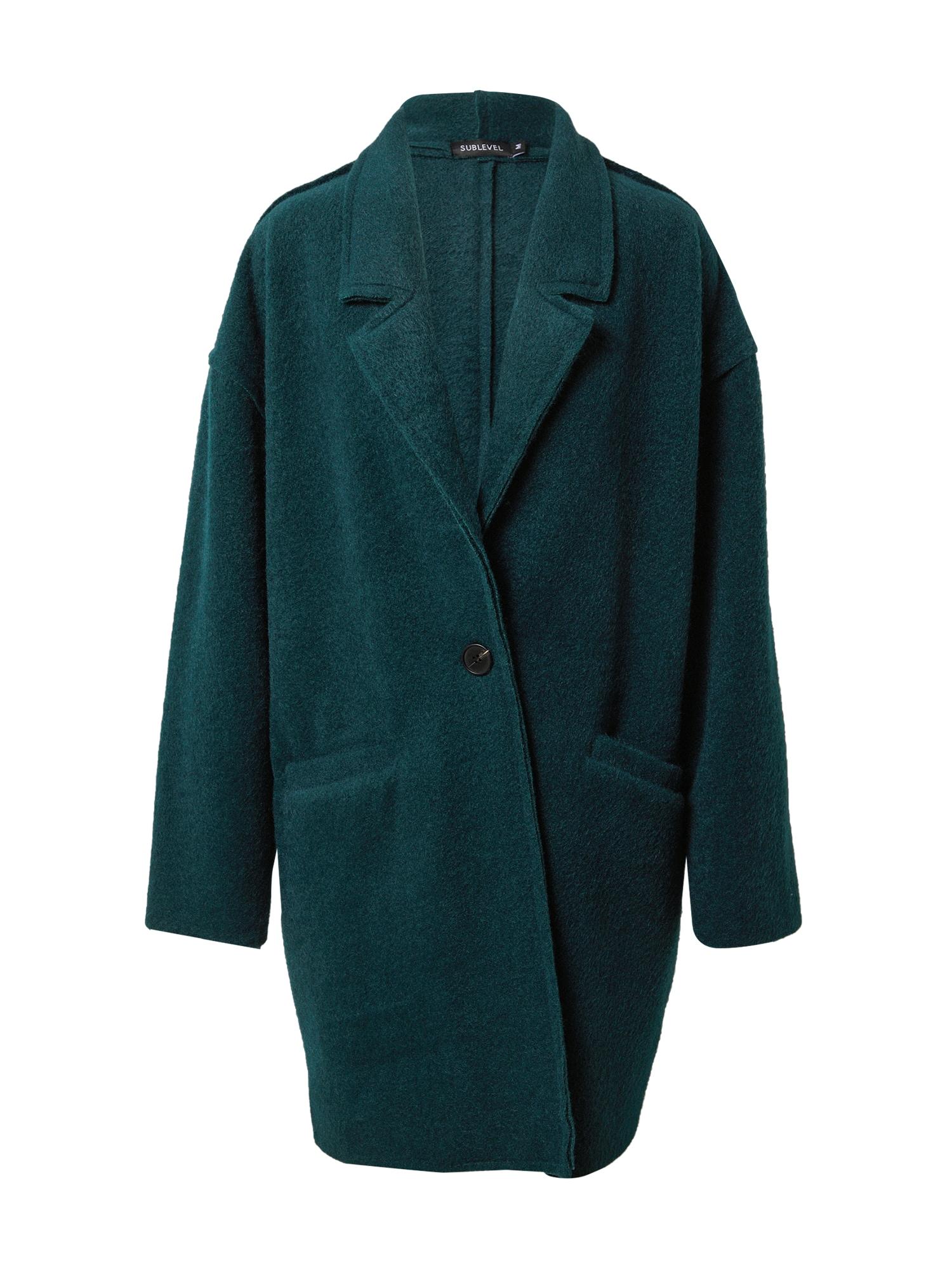 Sublevel Demisezoninis paltas įdegio spalva