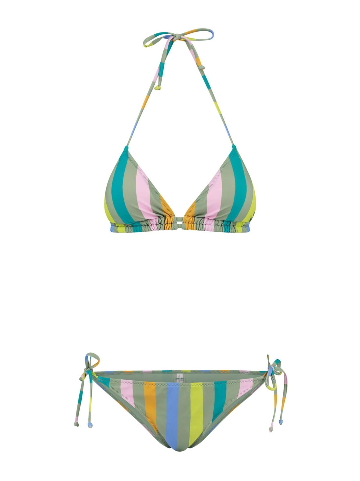 Shiwi Bikinis šviesiai žalia / rožinė / geltona / oranžinė / mėlyna dūmų spalva