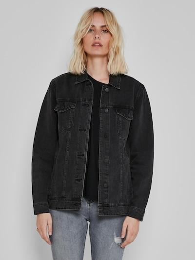 Noisy May Ole Long Sleeve Boyfriend Fit Denim Jacket
