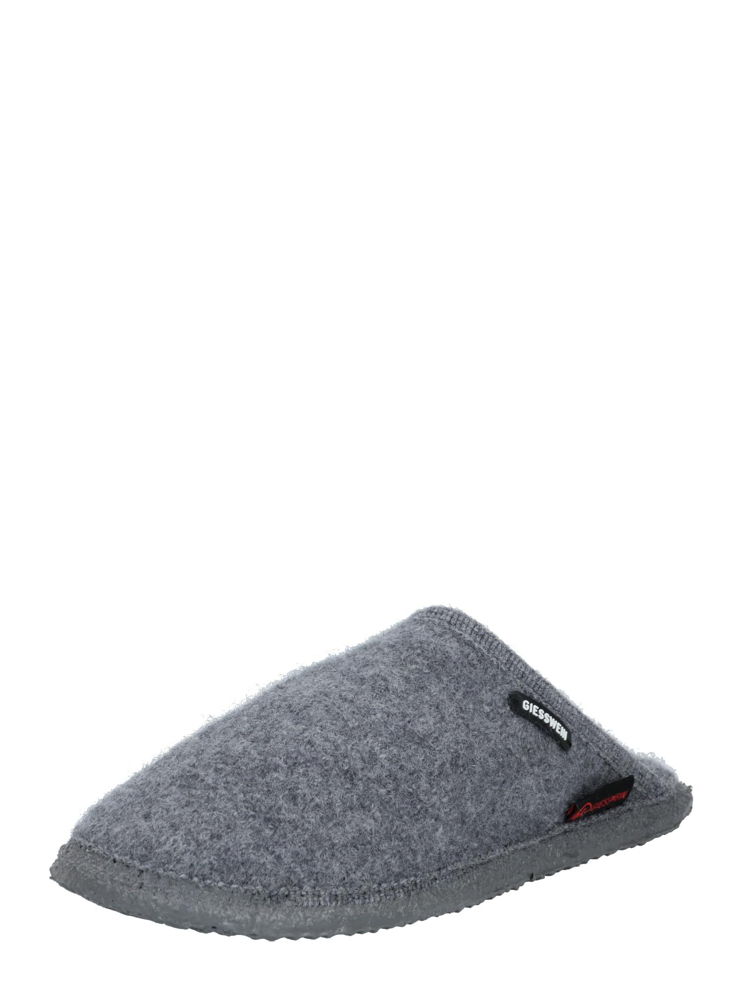 GIESSWEIN Pantofle 'Tino'  šedý melír
