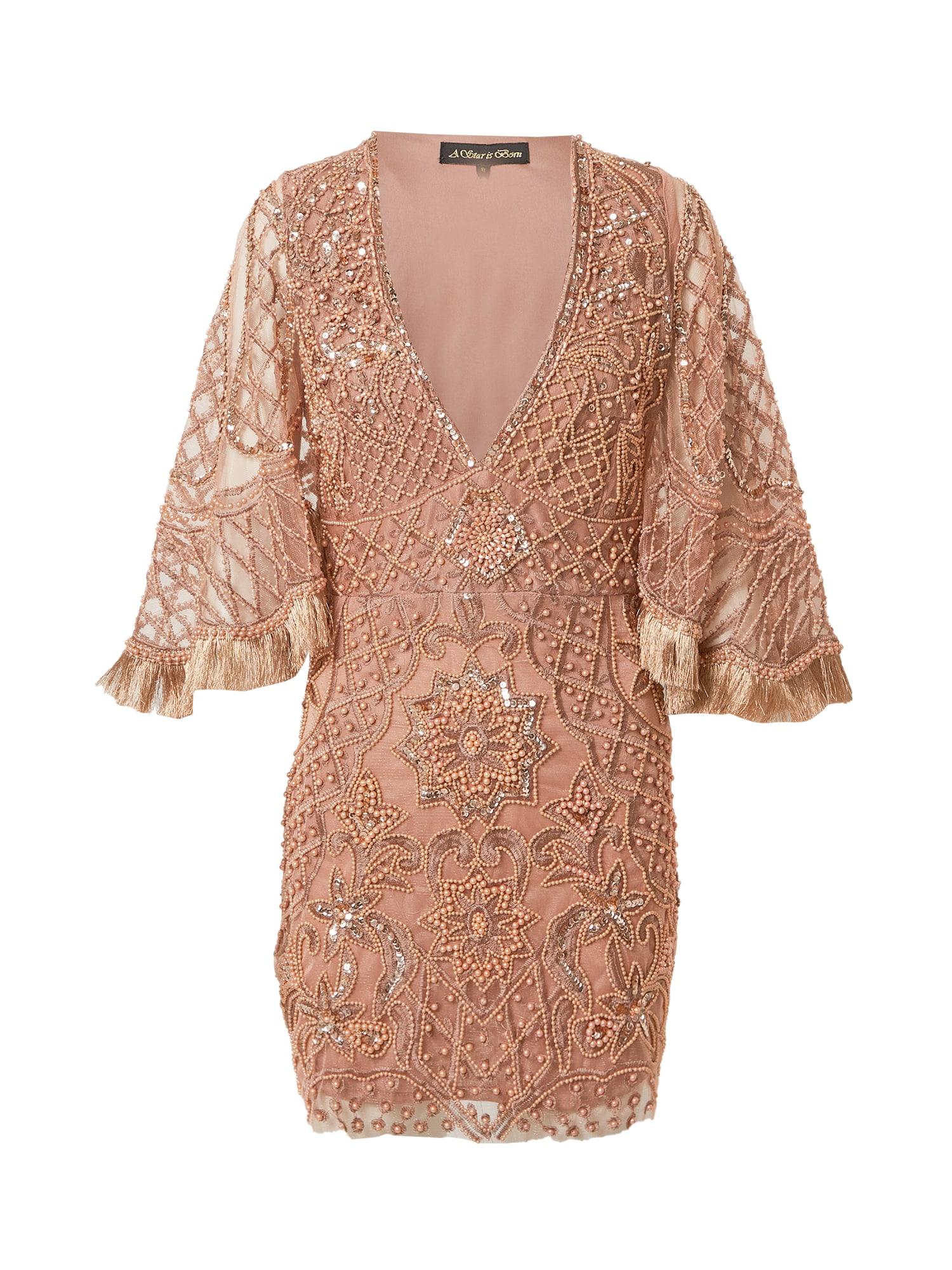 A STAR IS BORN Suknelė vario spalva / rožinio aukso spalva / ryškiai rožinė spalva