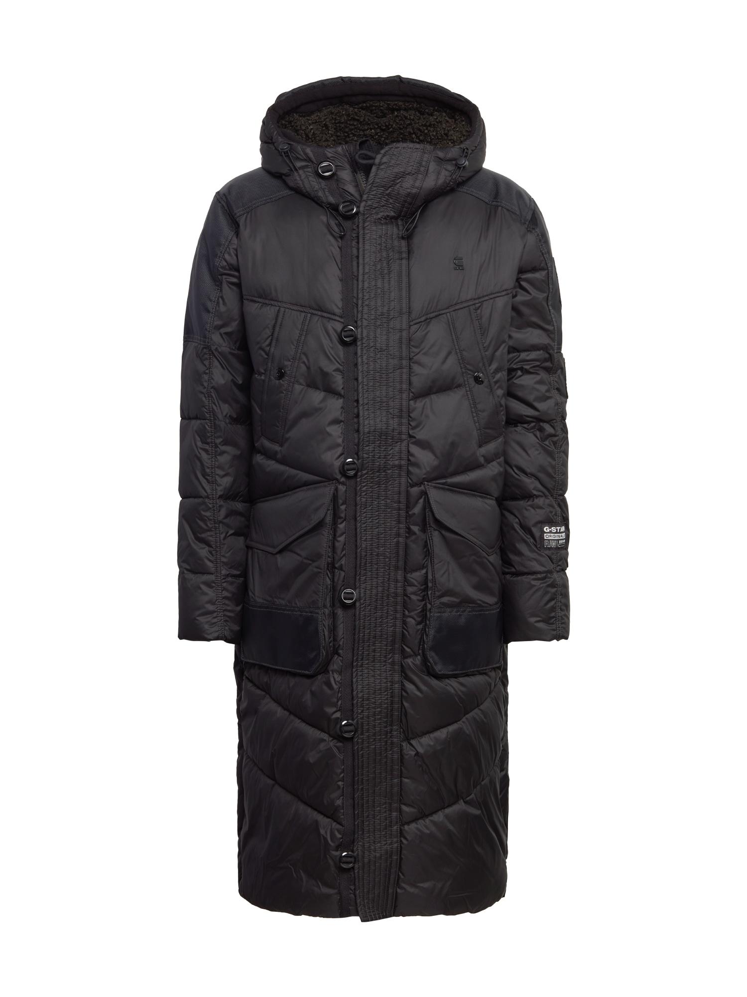 G-Star RAW Žieminis paltas juoda