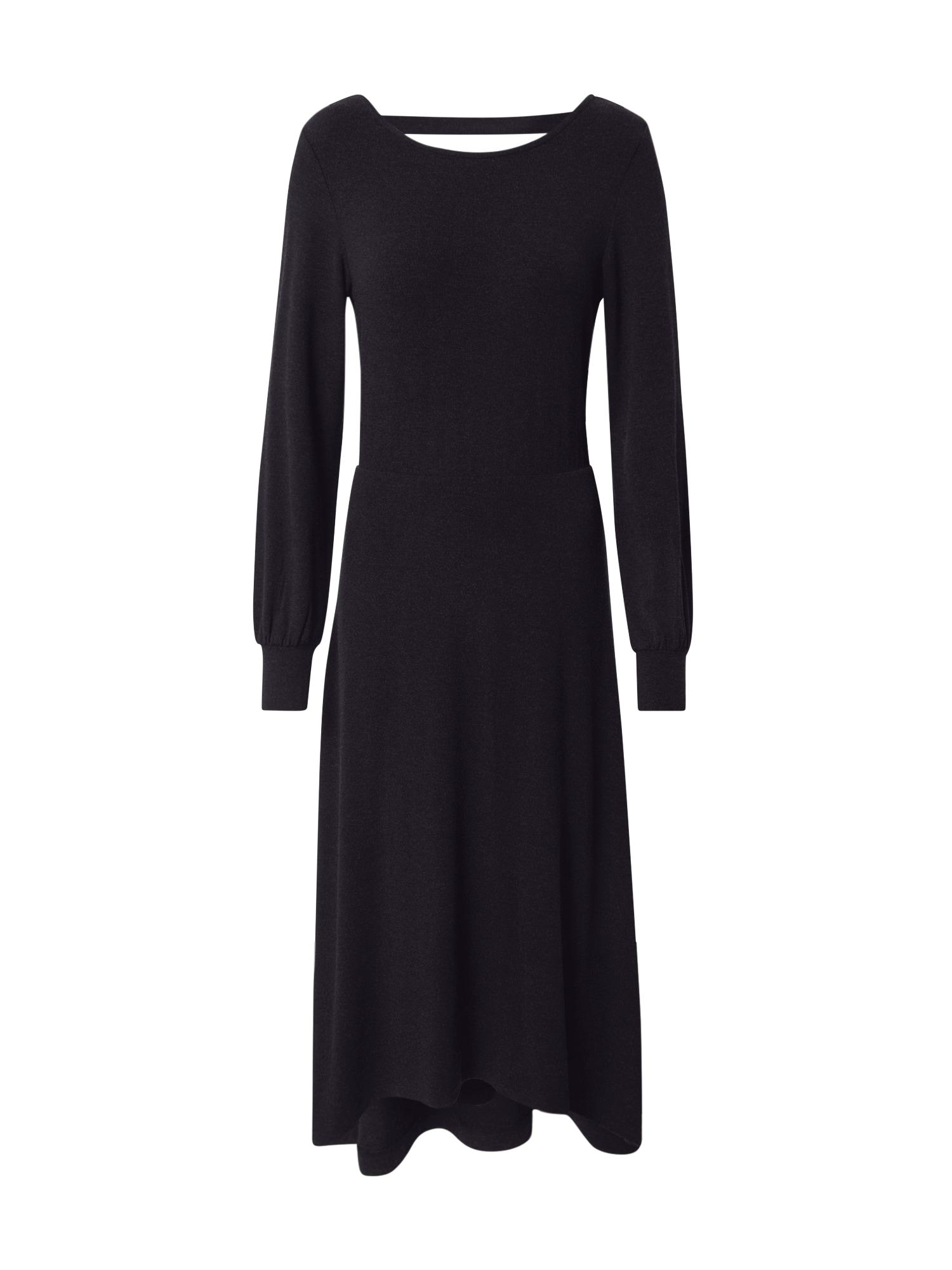 ESPRIT Suknelė 'Eco' juoda