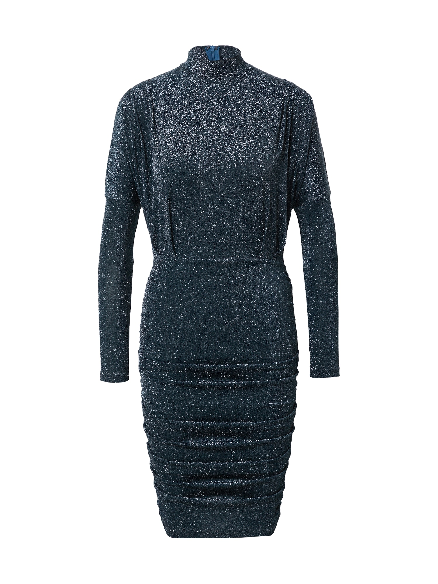 AX Paris Kokteilinė suknelė tamsiai mėlyna / sidabrinė