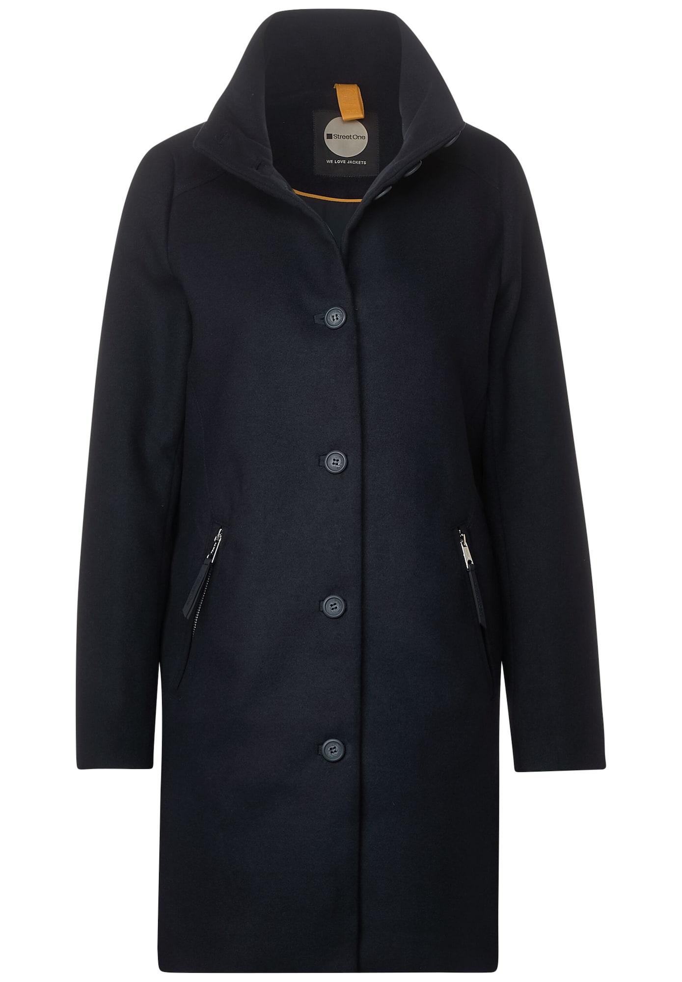 STREET ONE Demisezoninis paltas mėlyna