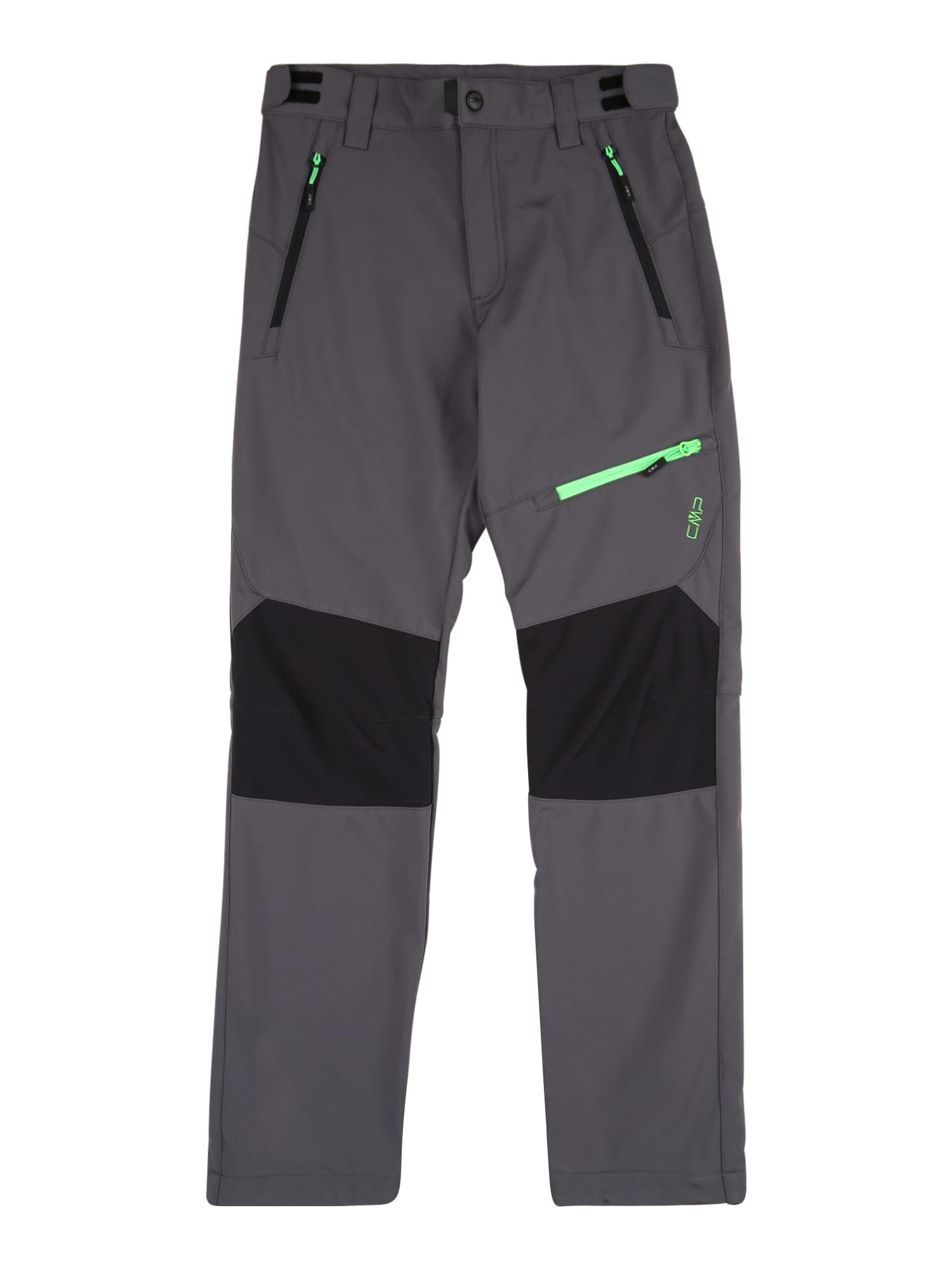 CMP Outdoorové nohavice  grafitová / antracitová / jablková