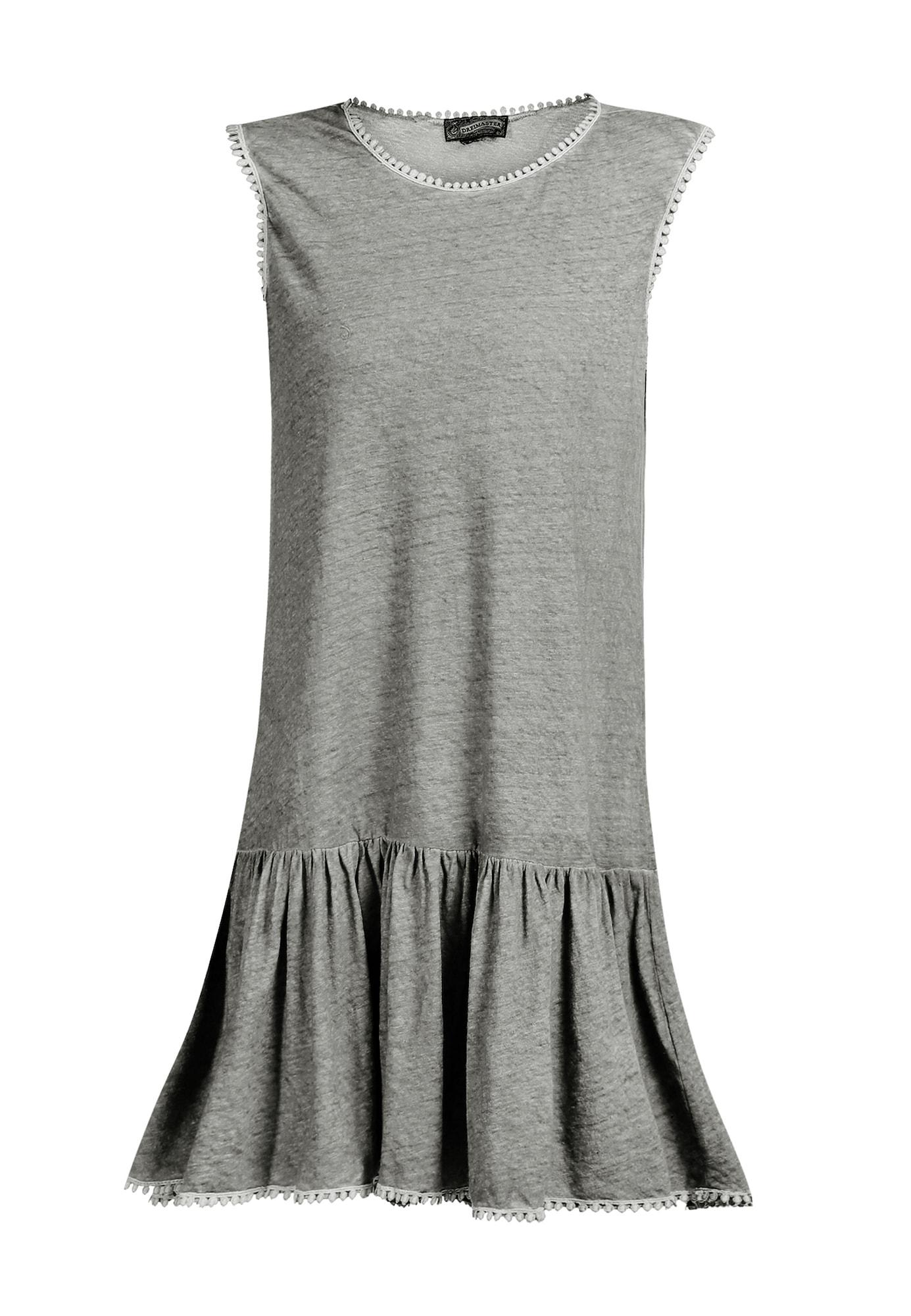 DreiMaster Vintage Vasarinė suknelė margai pilka