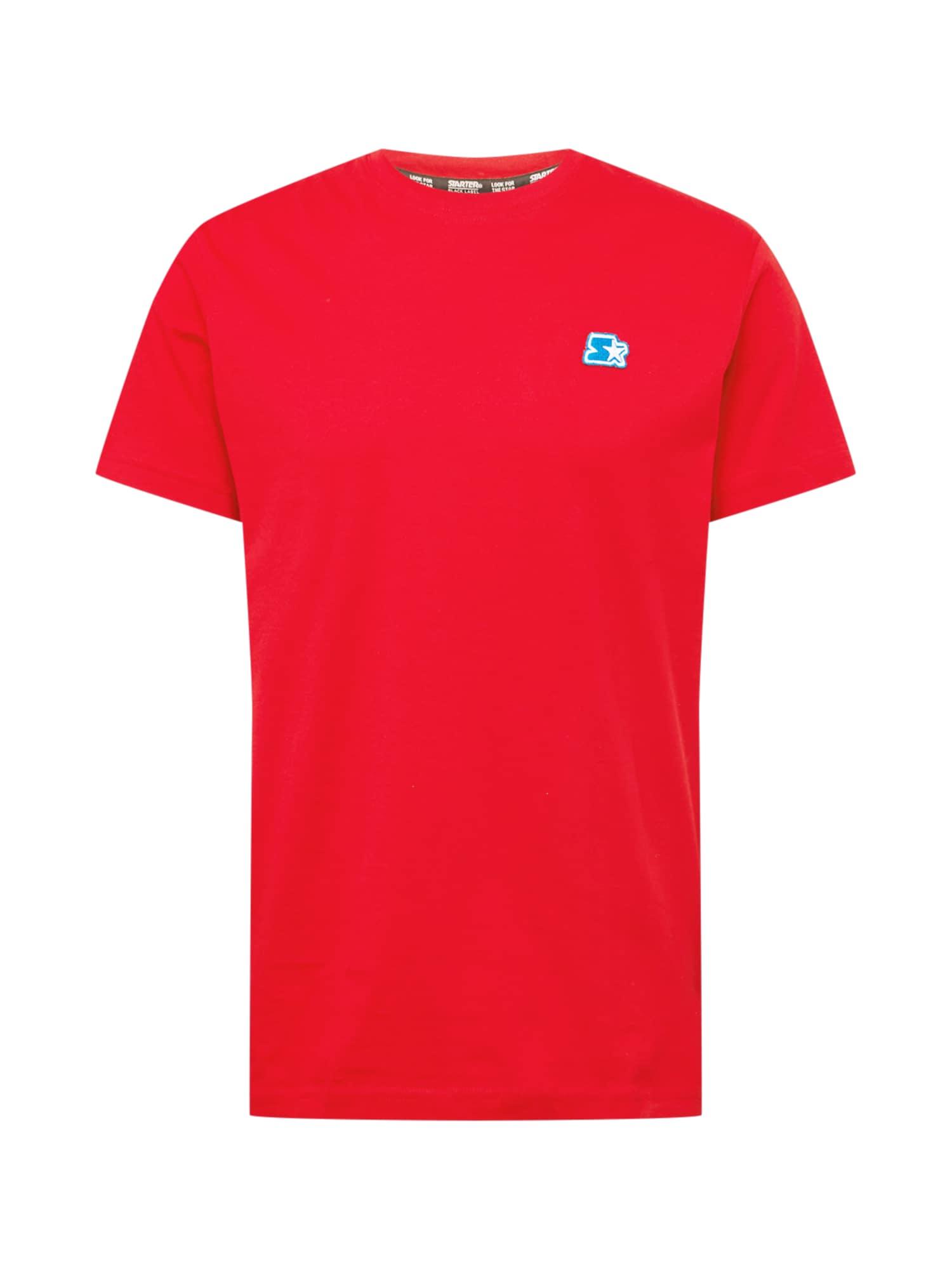 Starter Black Label Marškinėliai balta / ugnies raudona / turkio spalva