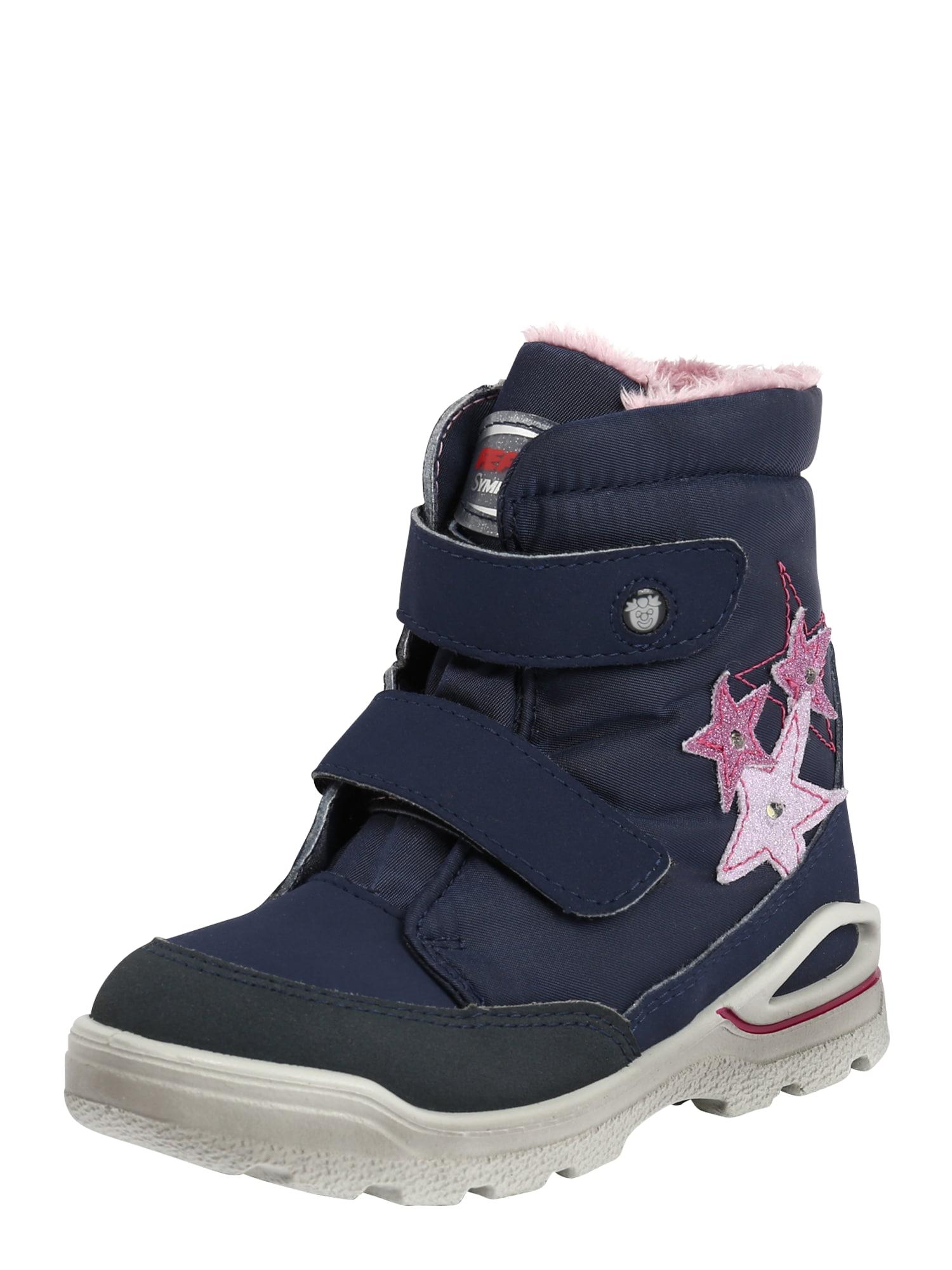 Pepino Snehule  ružová / tmavomodrá