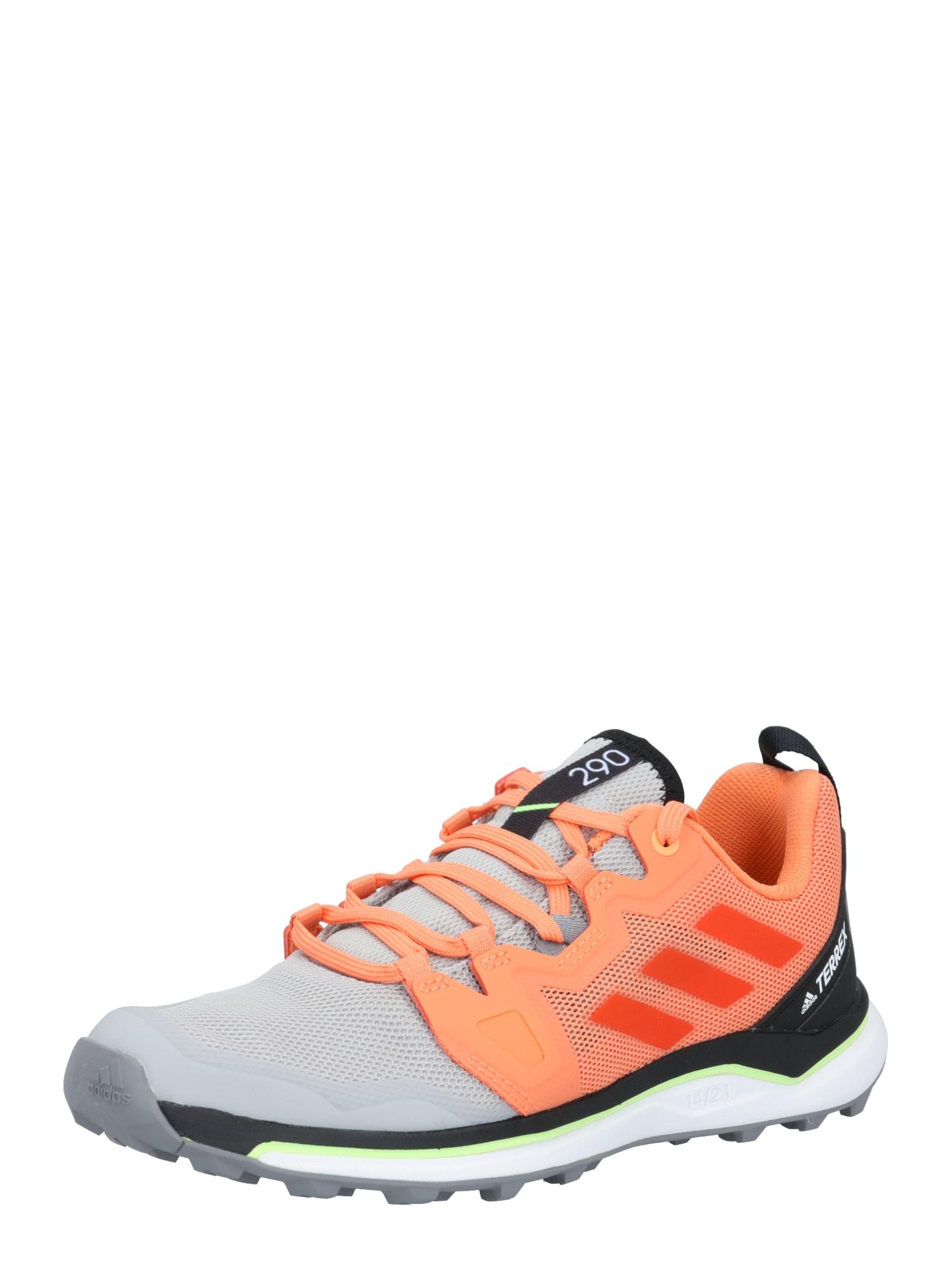 ADIDAS PERFORMANCE Bėgimo batai oranžinė / pilka / antracito