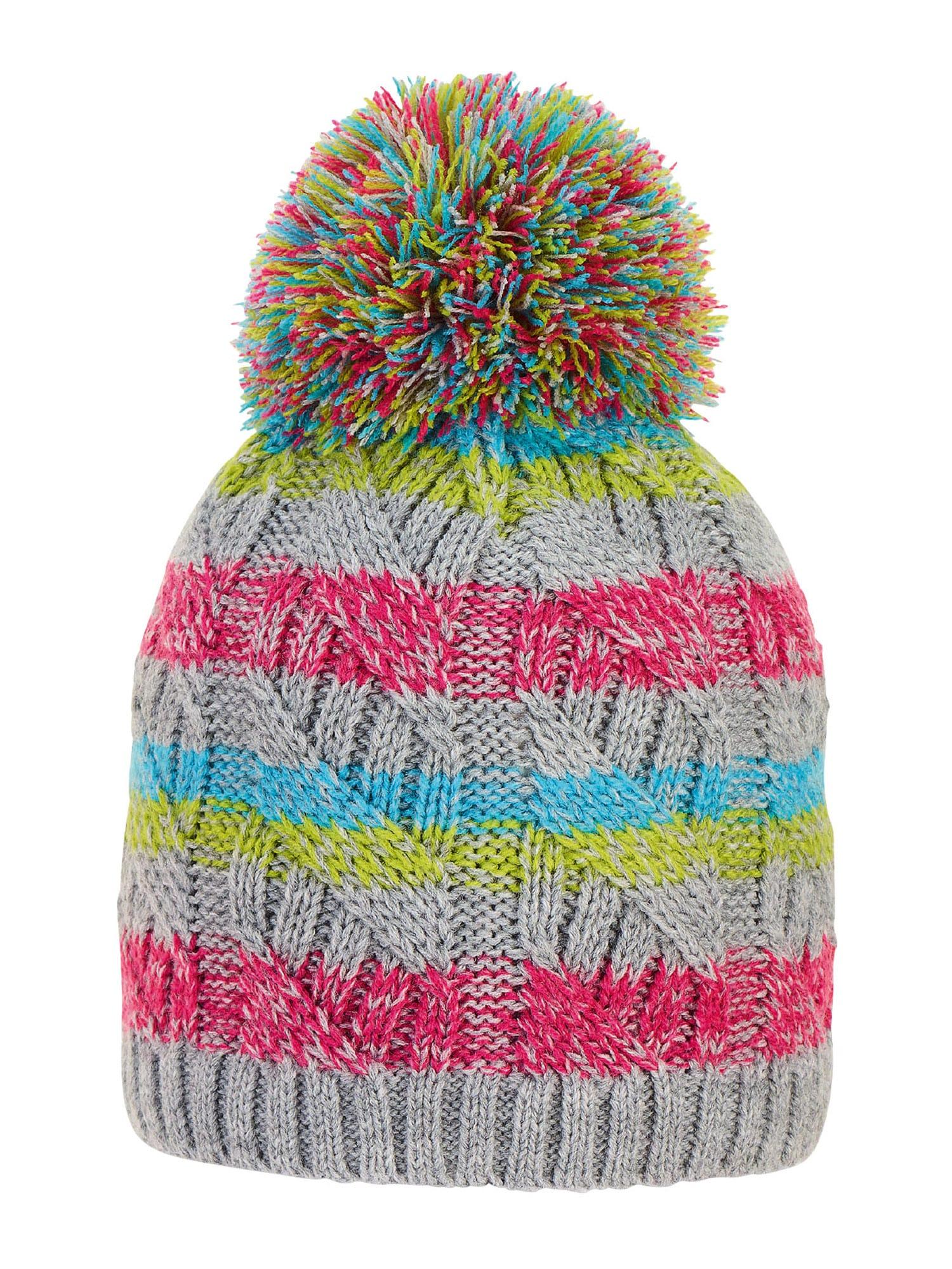 STERNTALER Megzta kepurė pilka / mišrios spalvos