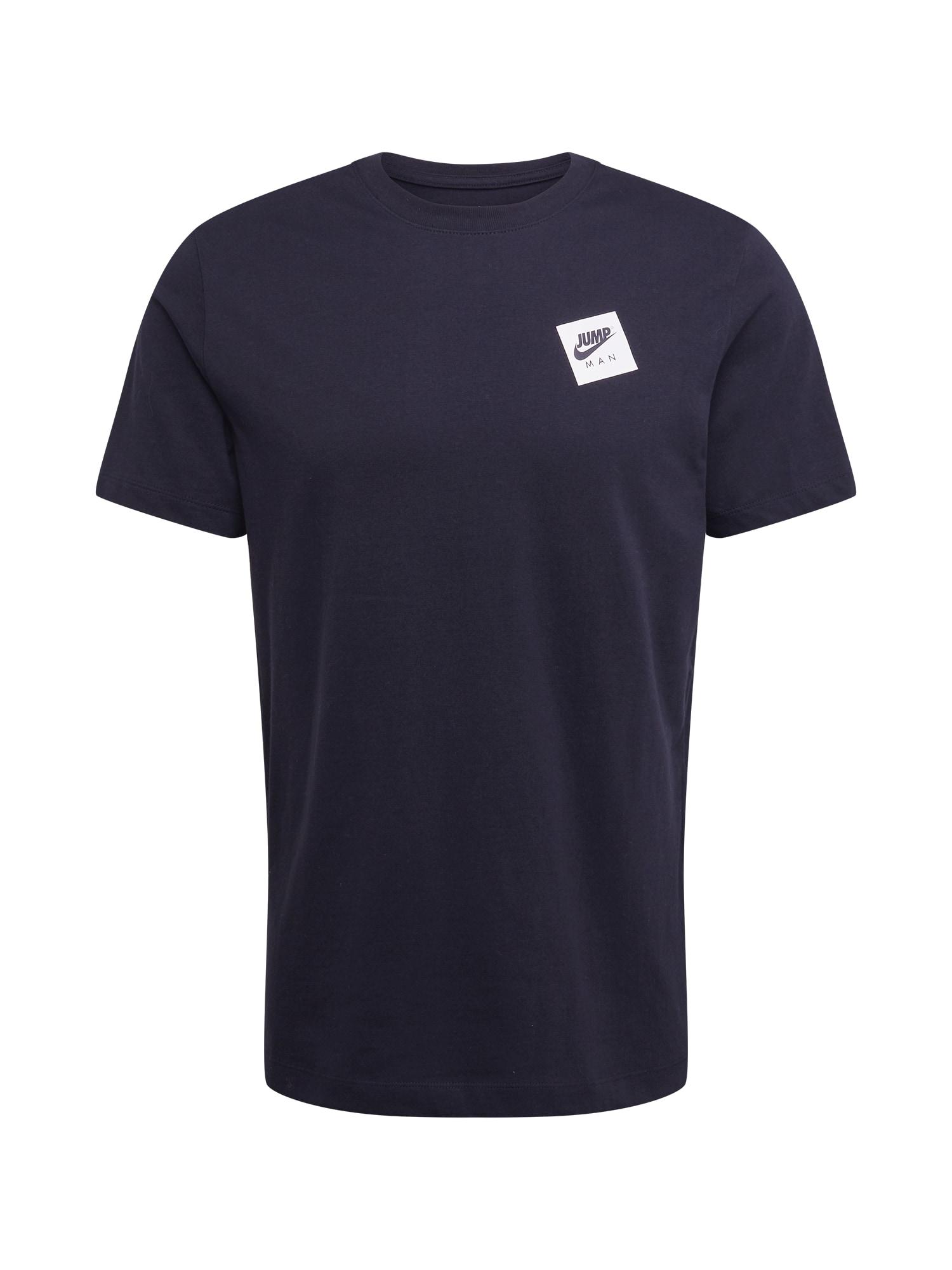 Jordan Marškinėliai juoda / balta / melionų spalva / bazalto pilka