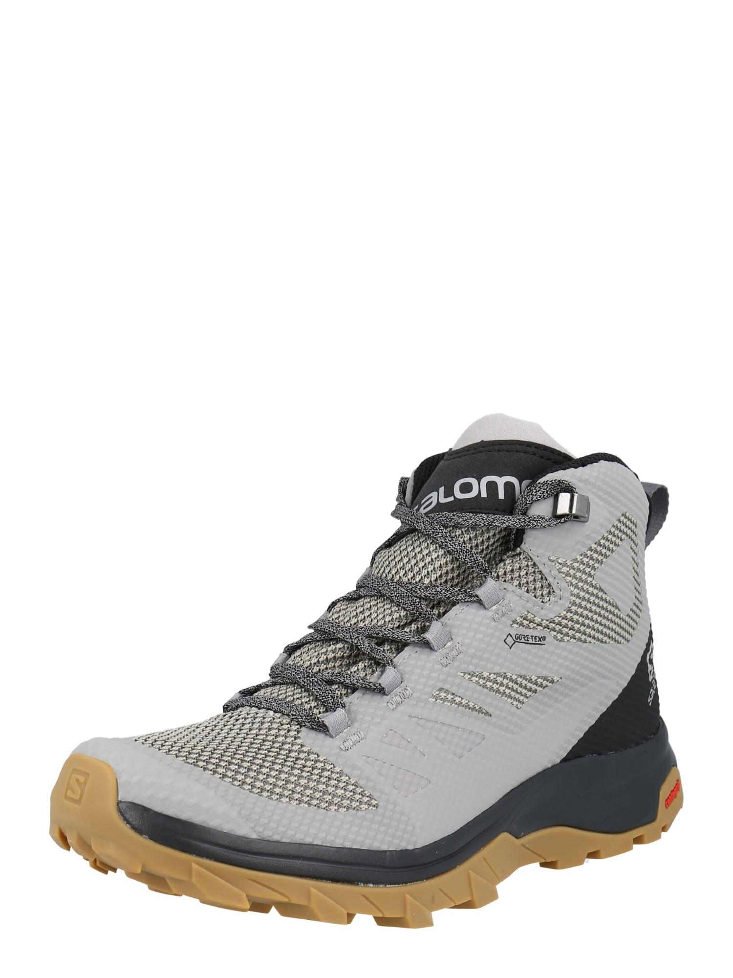 SALOMON Auliniai batai pilka / juoda