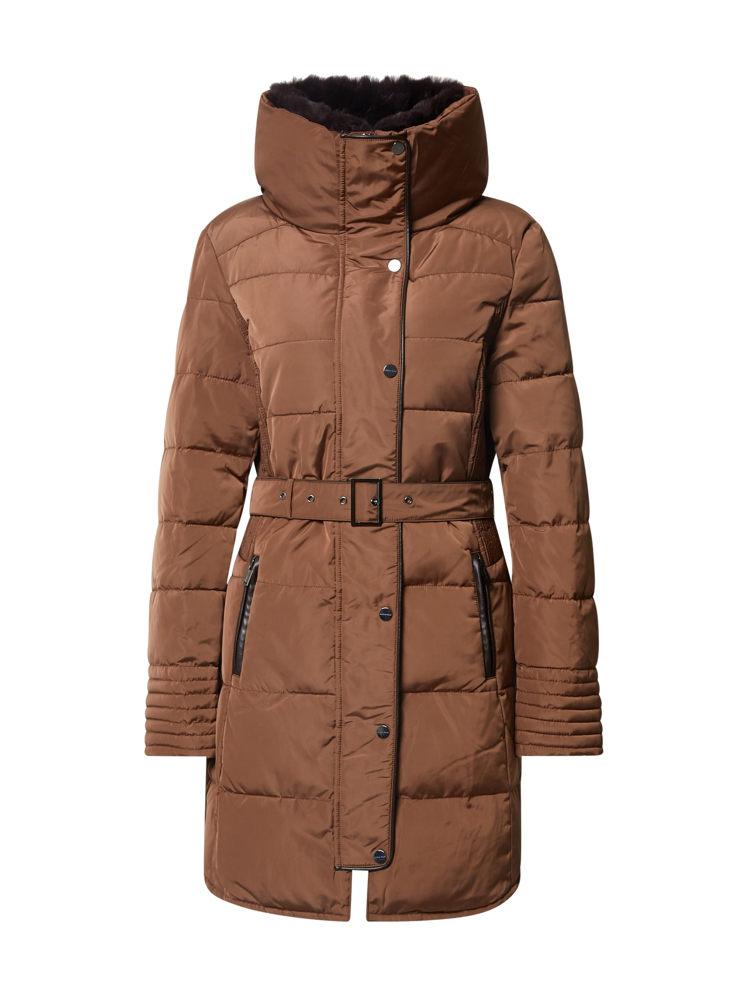 RINO & PELLE Žieminis paltas ruda