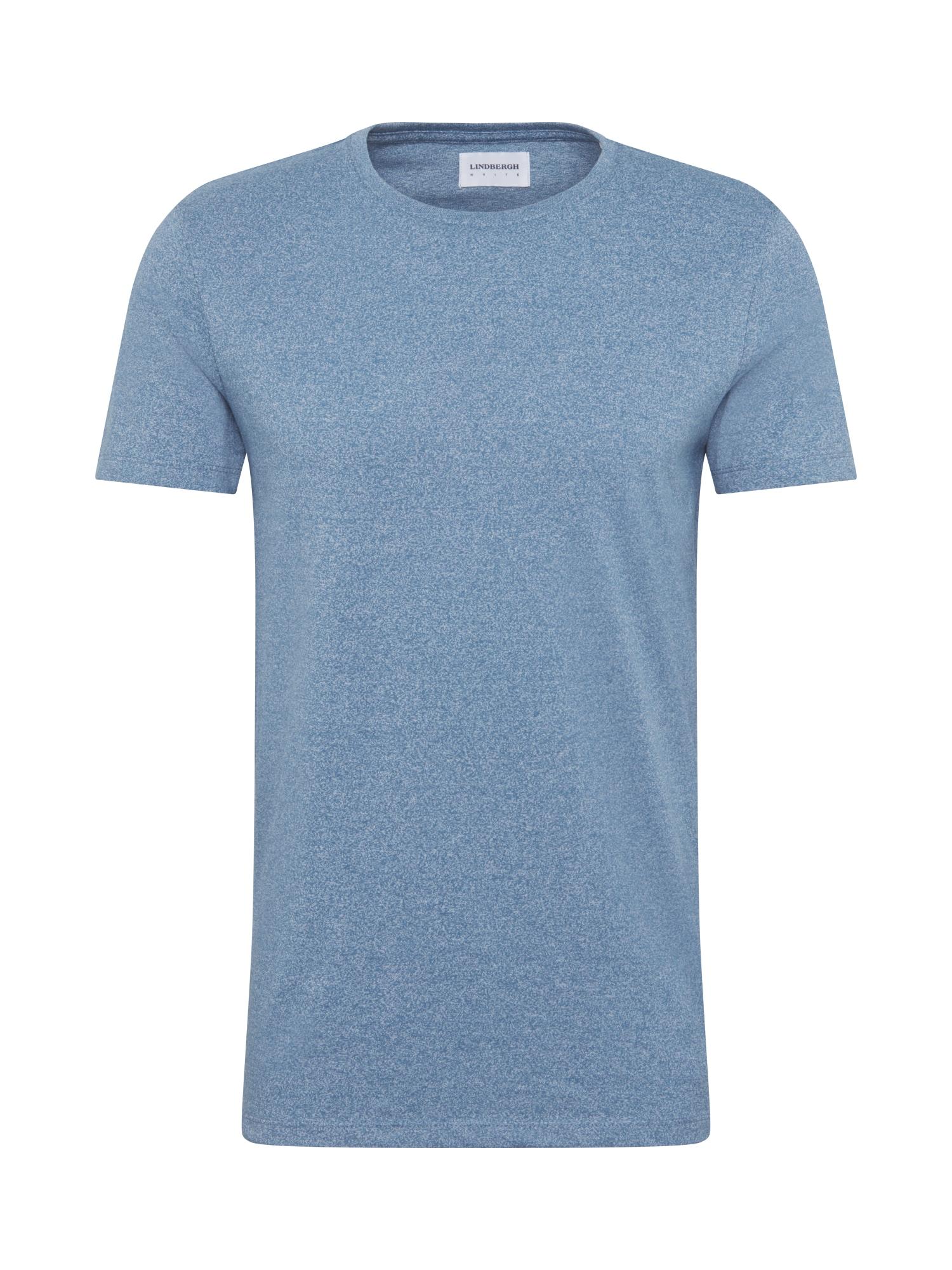 Lindbergh Marškinėliai mėlyna dūmų spalva