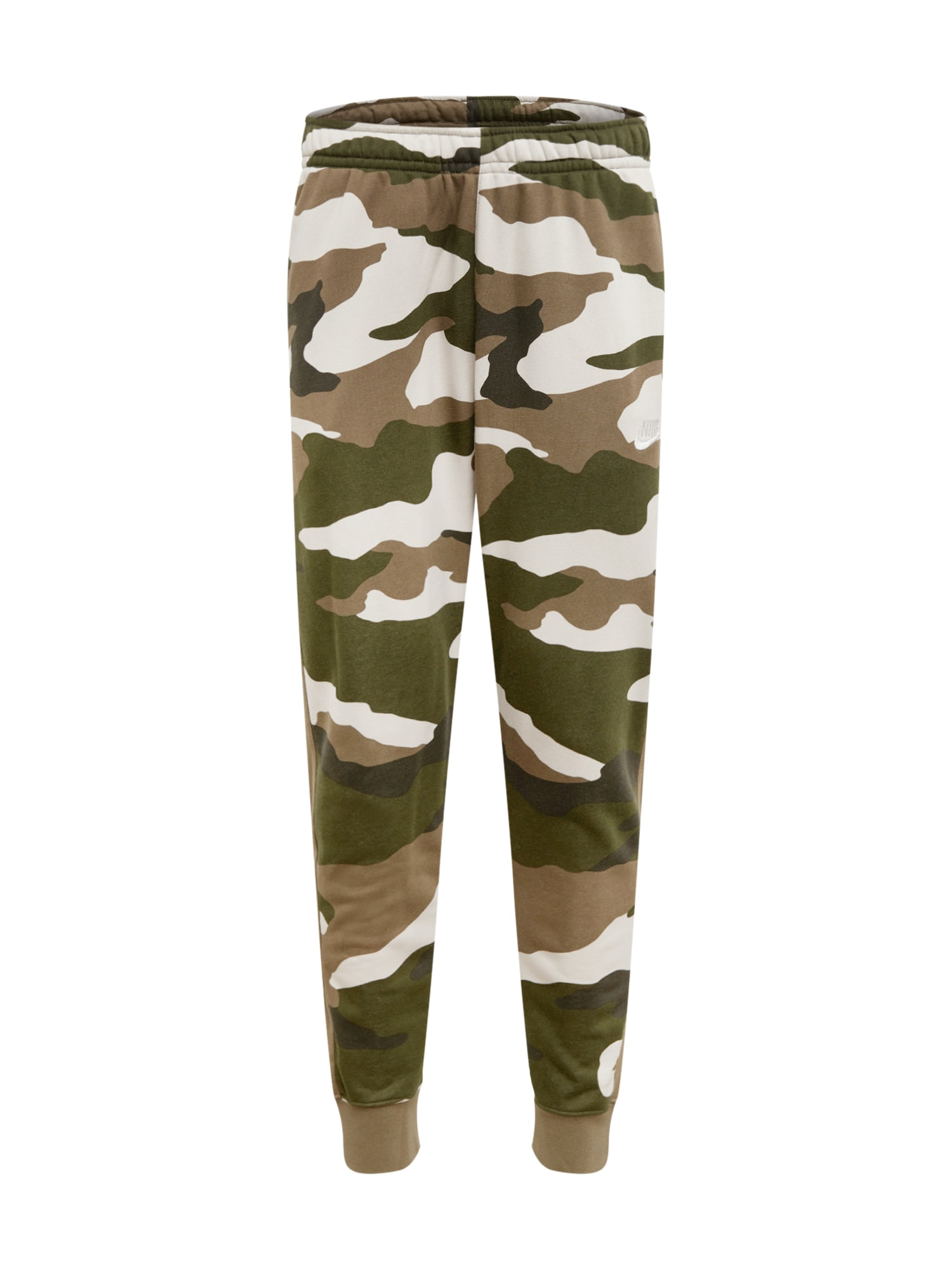 Nike Sportswear Kalhoty 'Club'  khaki / béžová / jedle / olivová