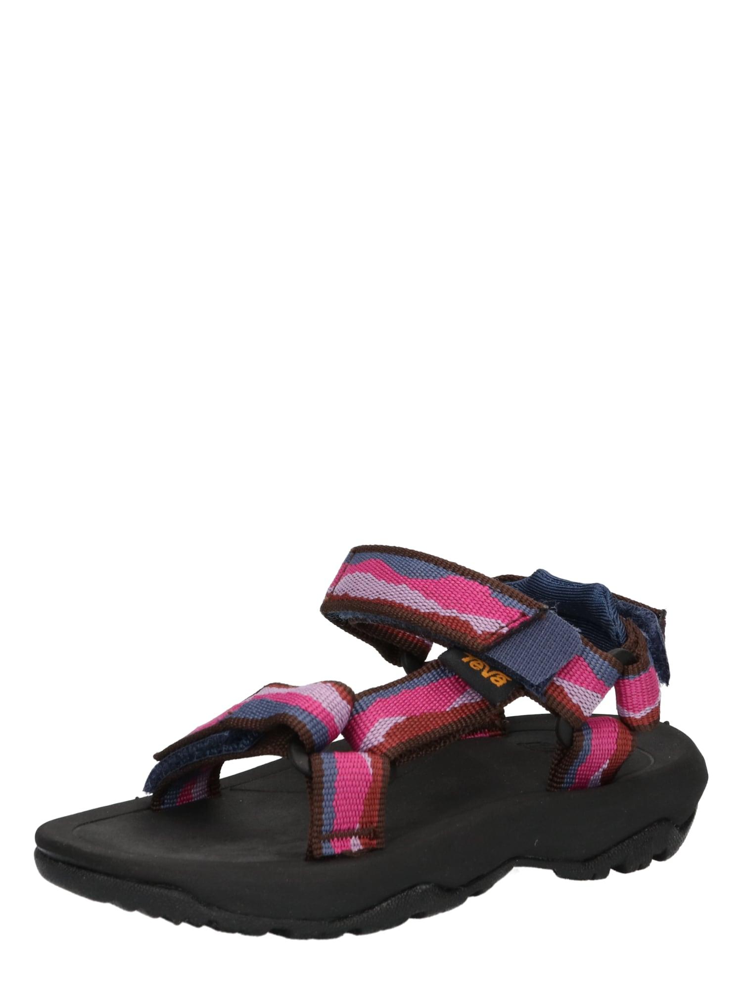 TEVA Atviri batai melsvai pilka / rožinė / rožių spalva / rusva