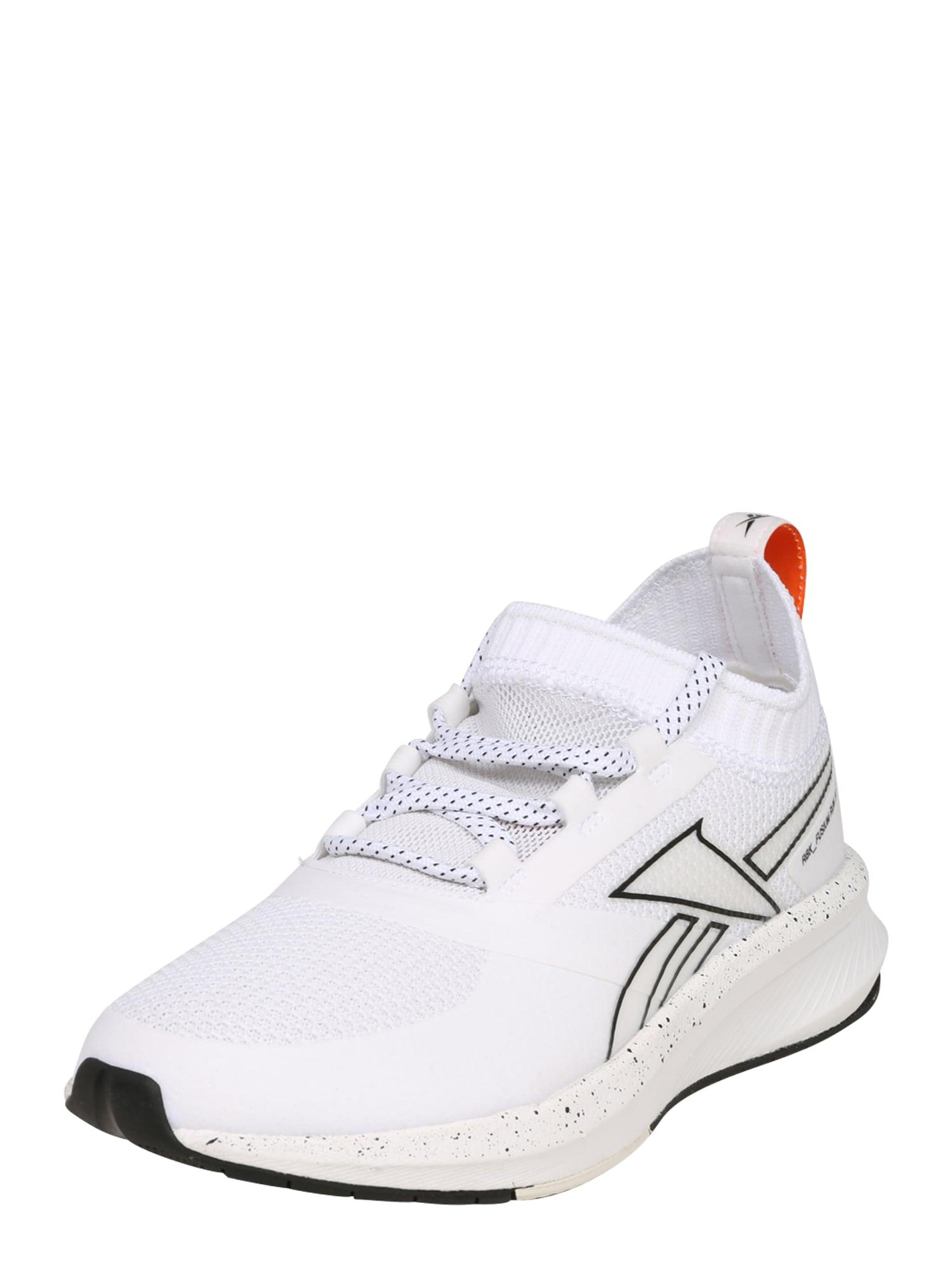 REEBOK Bėgimo batai balta / juoda