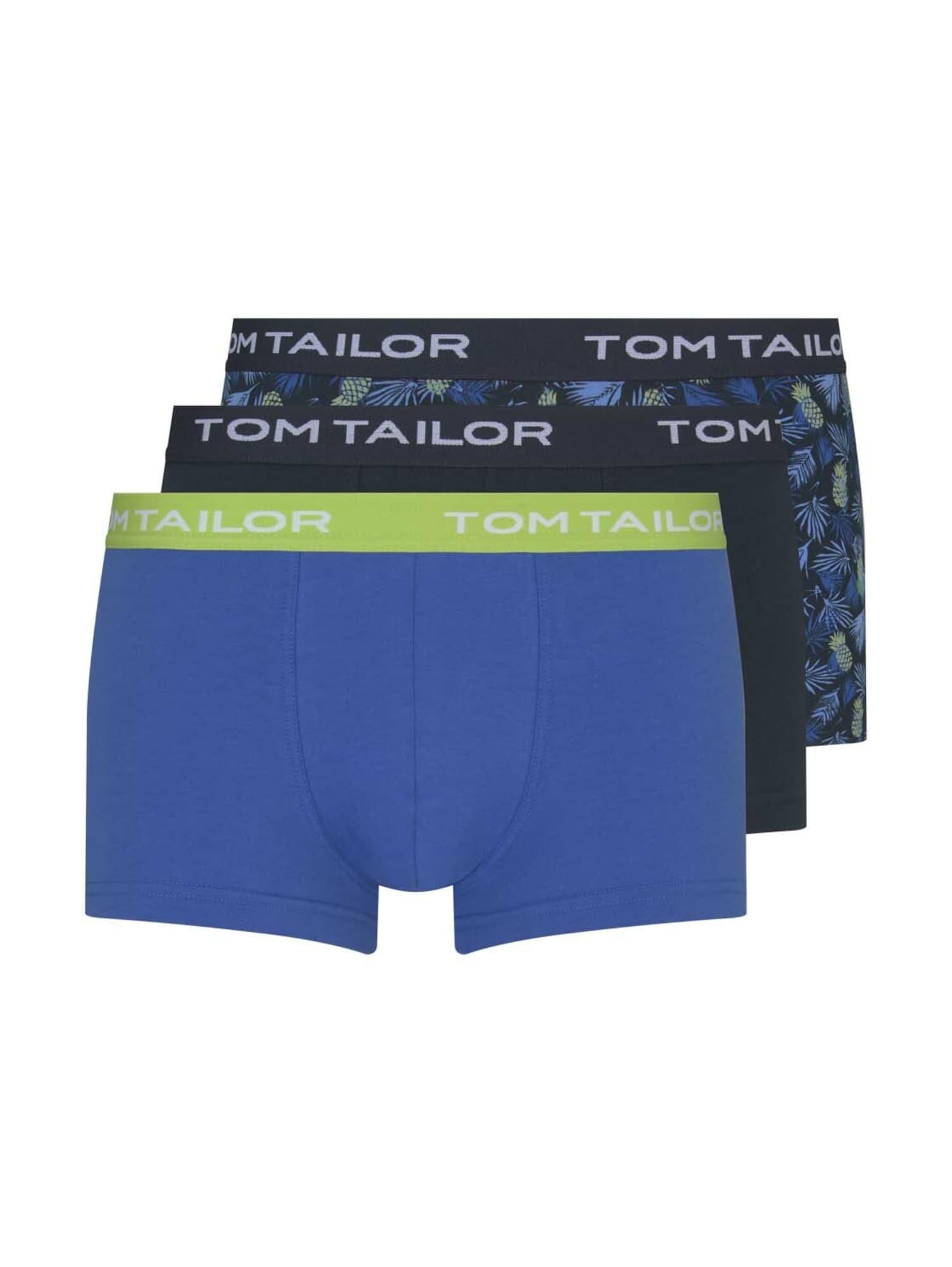 TOM TAILOR Boxer trumpikės mišrios spalvos