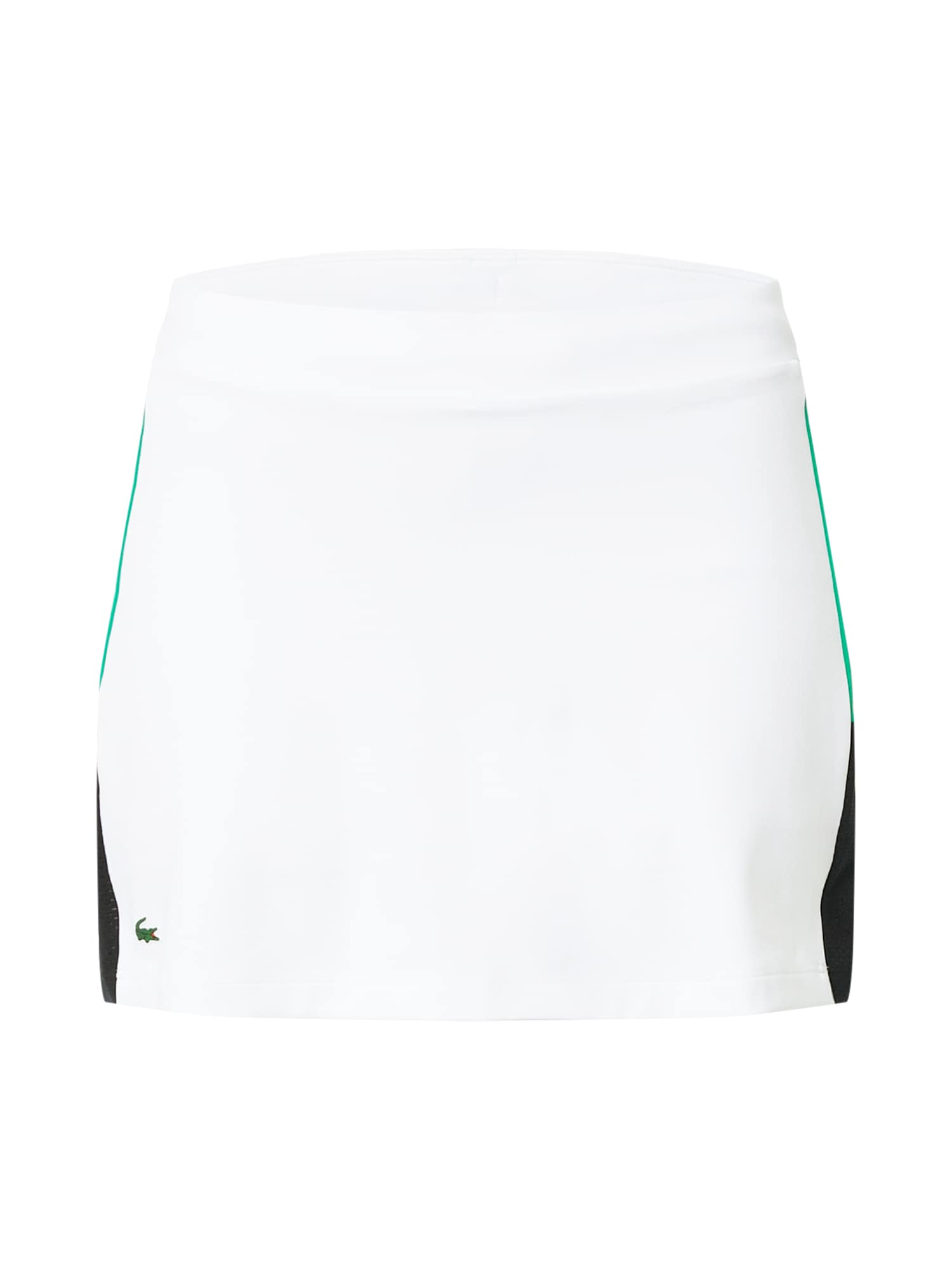 Lacoste Sport Sportinio stiliaus sijonas balta / tamsiai mėlyna / nefrito spalva
