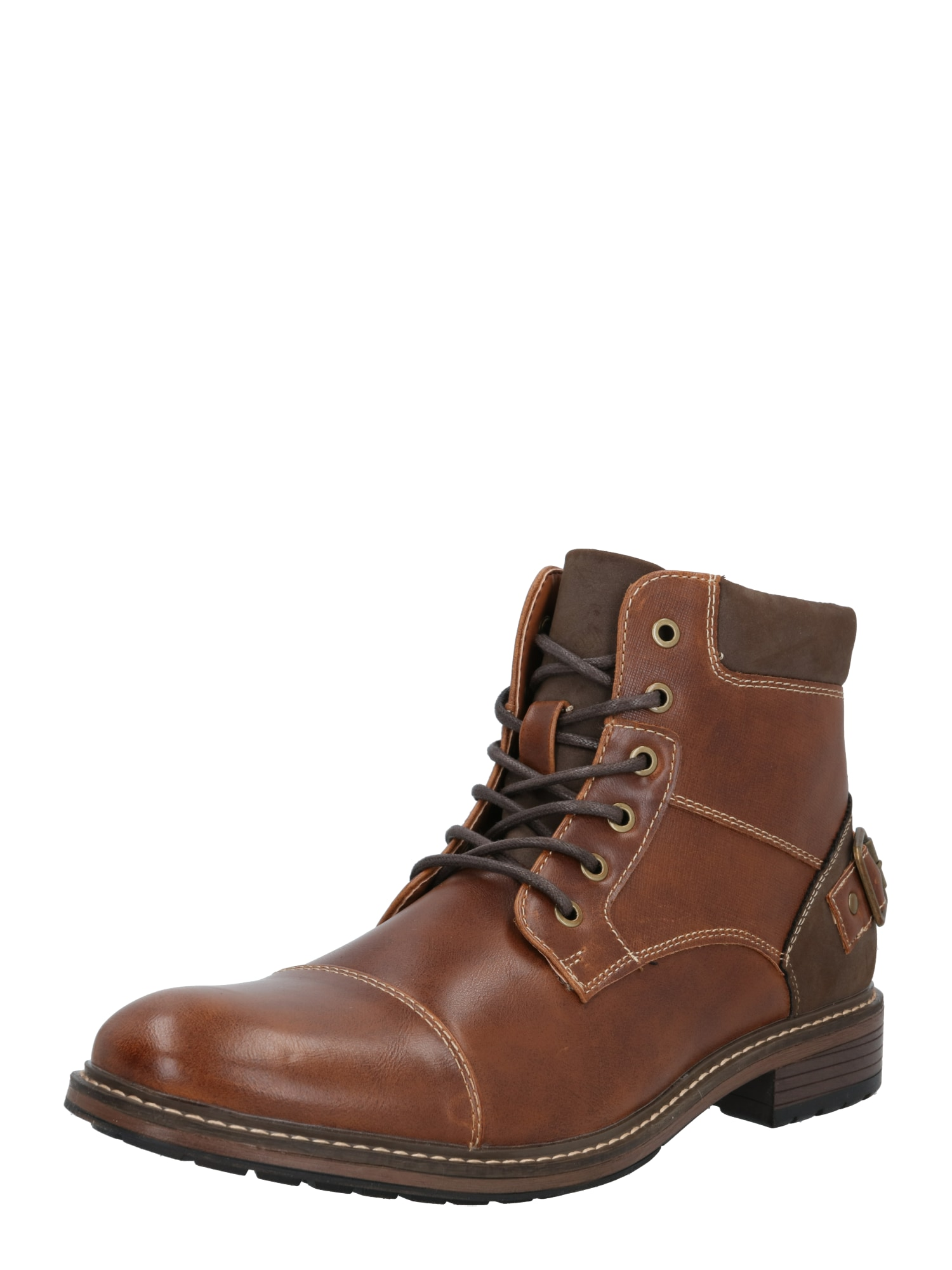 CALL IT SPRING Suvarstomieji batai ruda