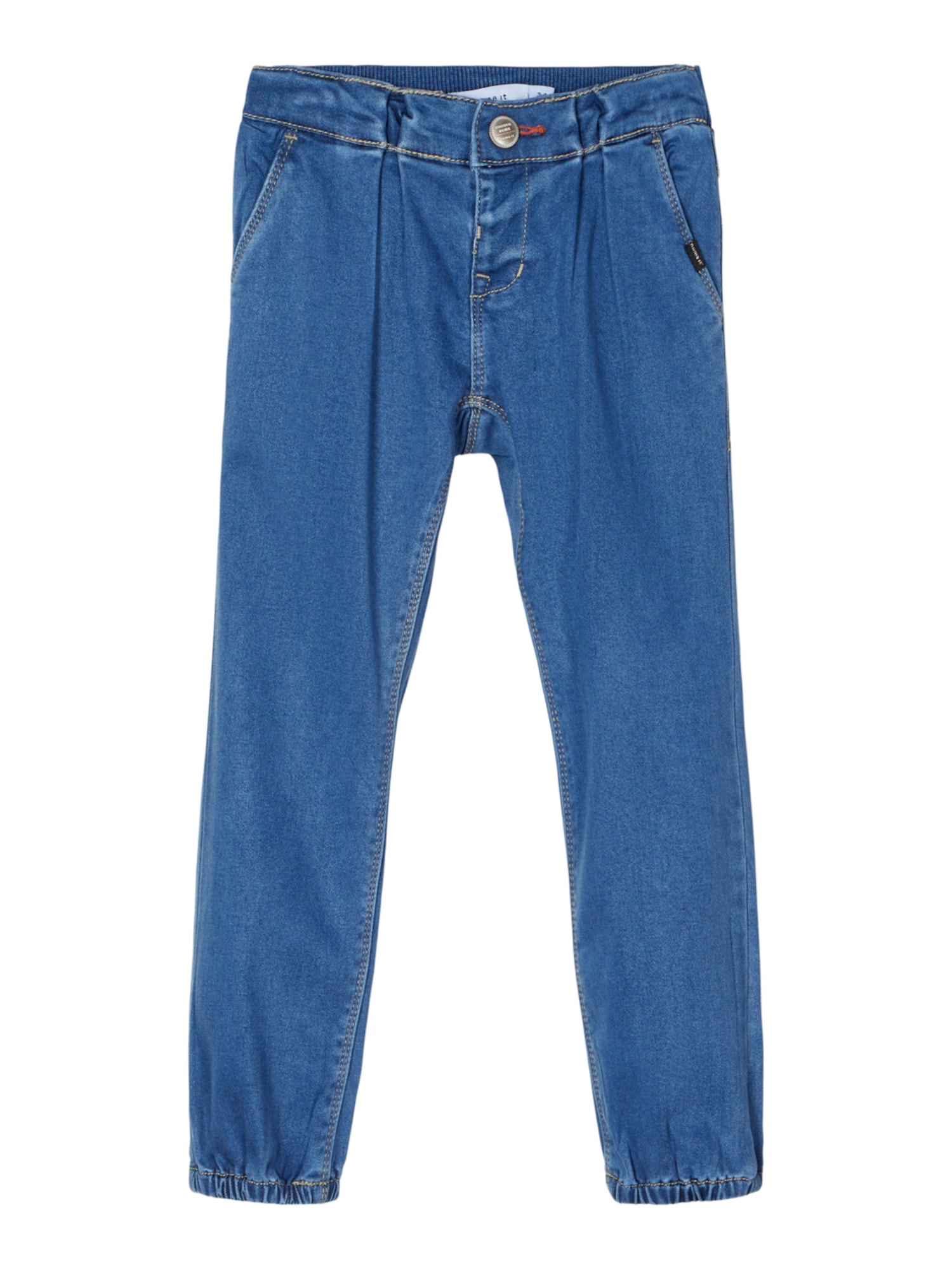 NAME IT Džinsai 'Rie' tamsiai (džinso) mėlyna