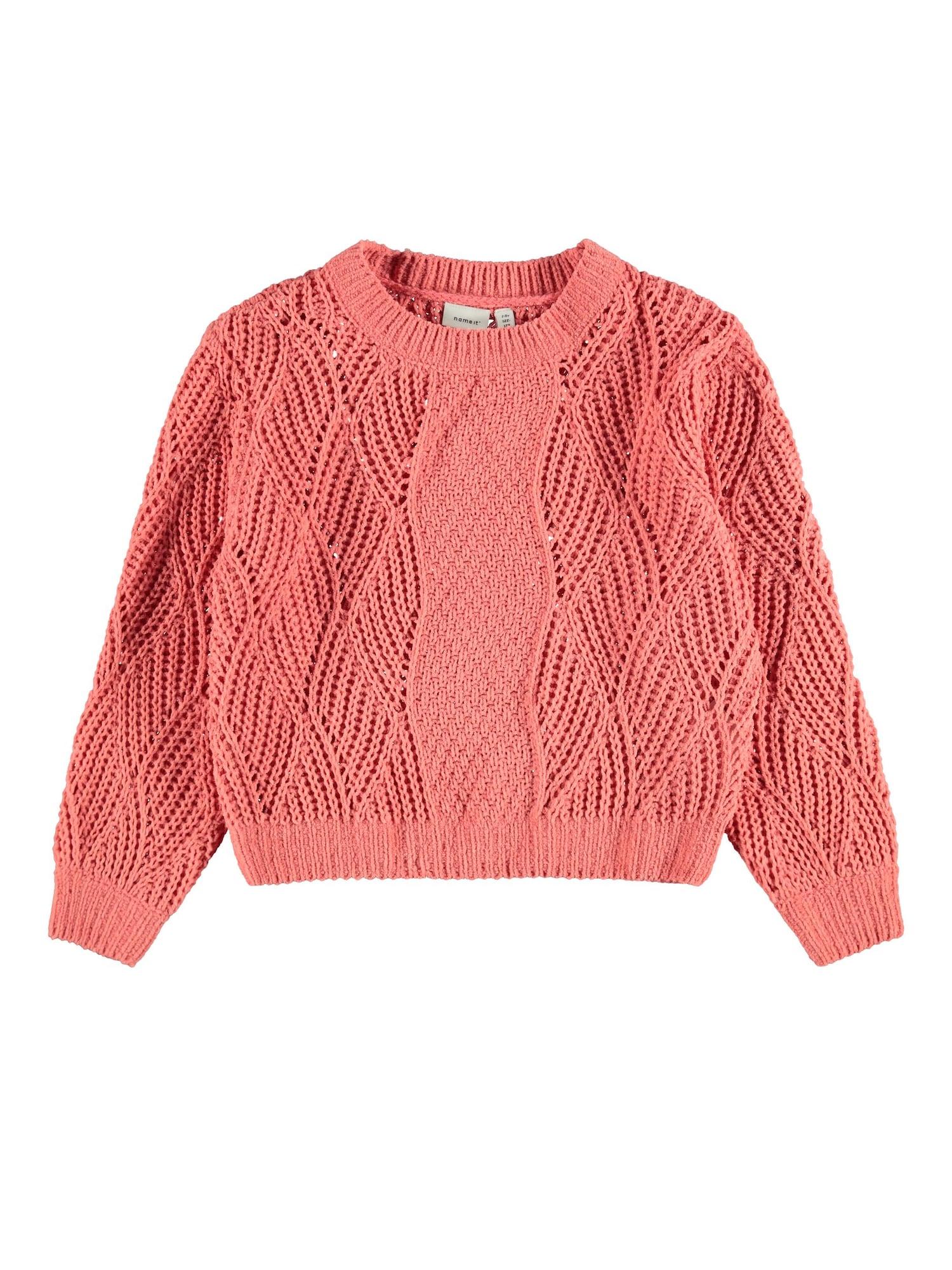 NAME IT Megztinis rožinė