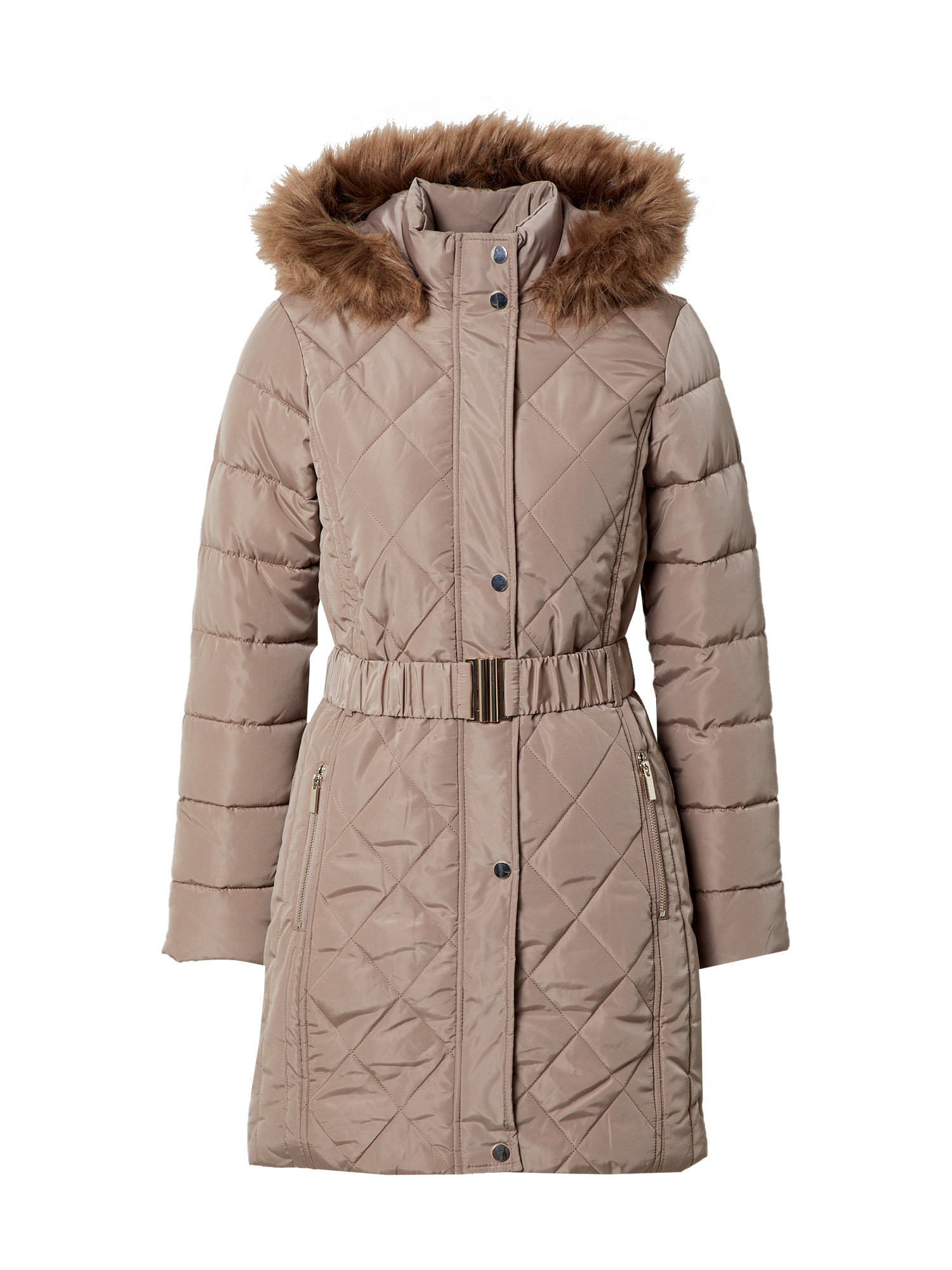 Dorothy Perkins Žieminis paltas šviesiai ruda