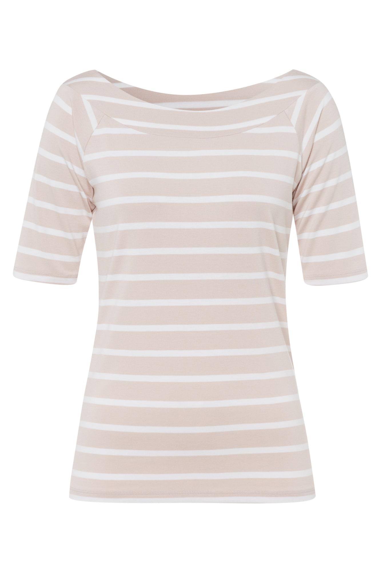MORE & MORE Marškinėliai kūno spalva / balta