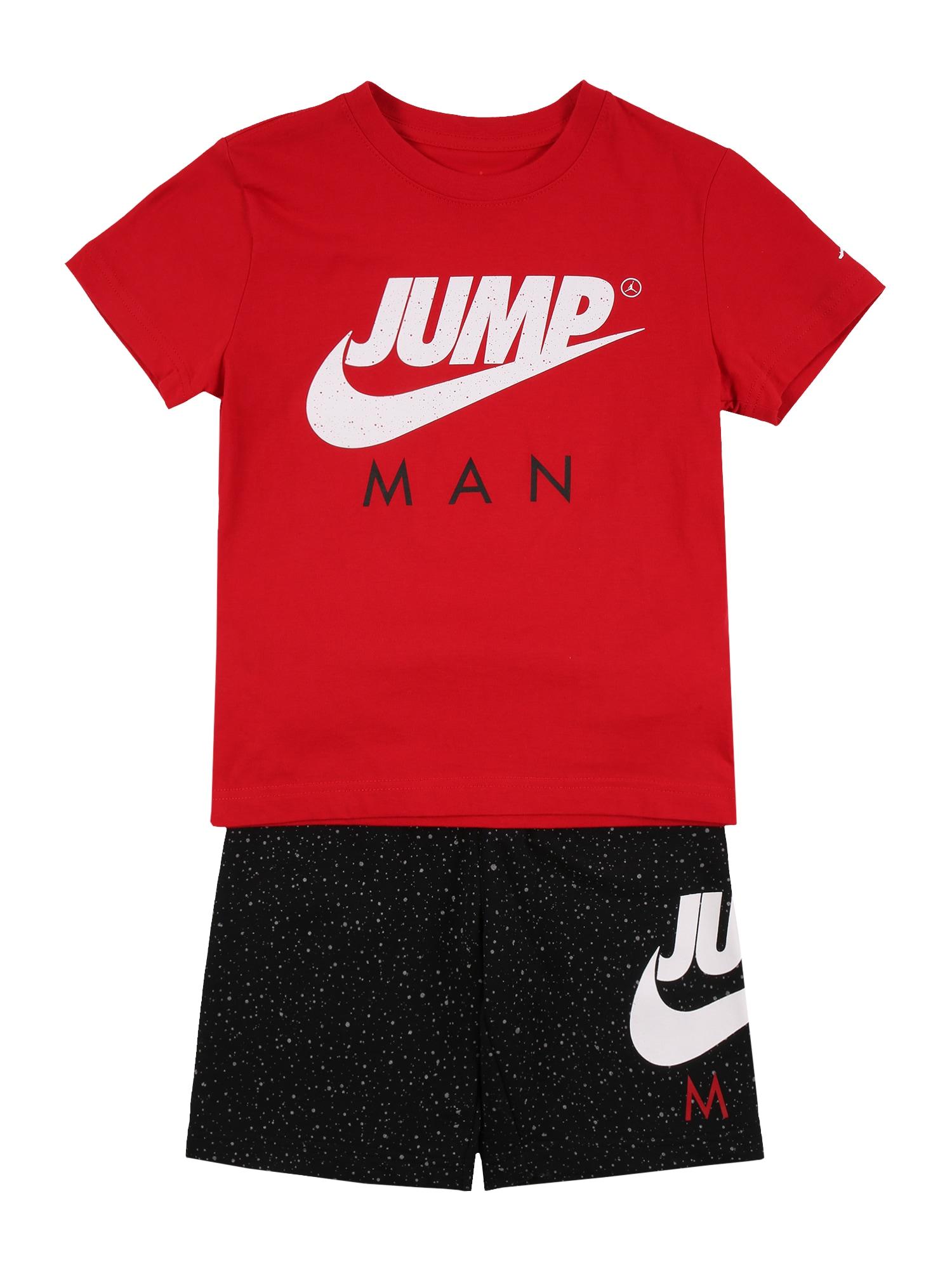 Jordan Rinkinys juoda / raudona / balta