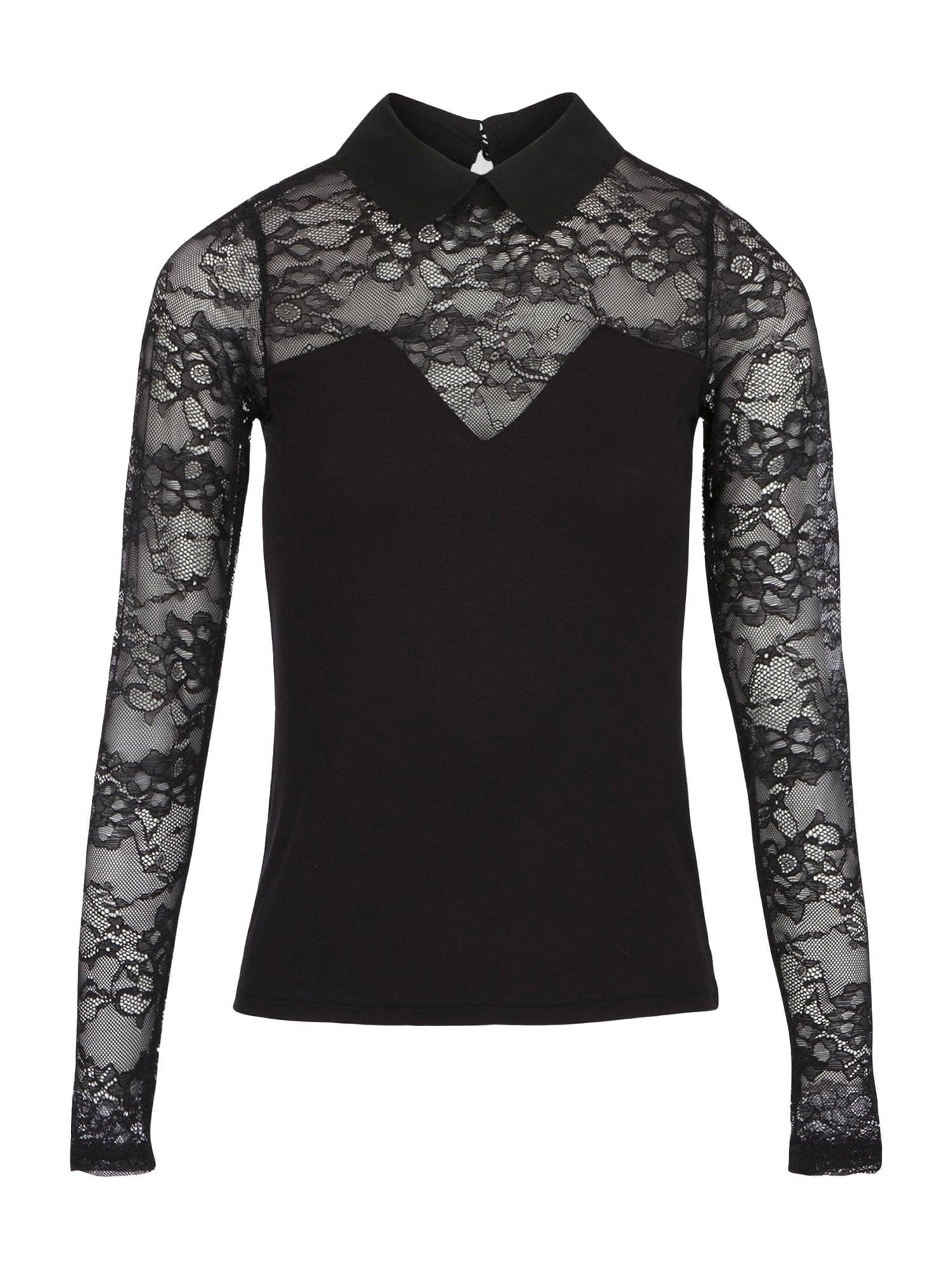 Morgan Marškinėliai juoda