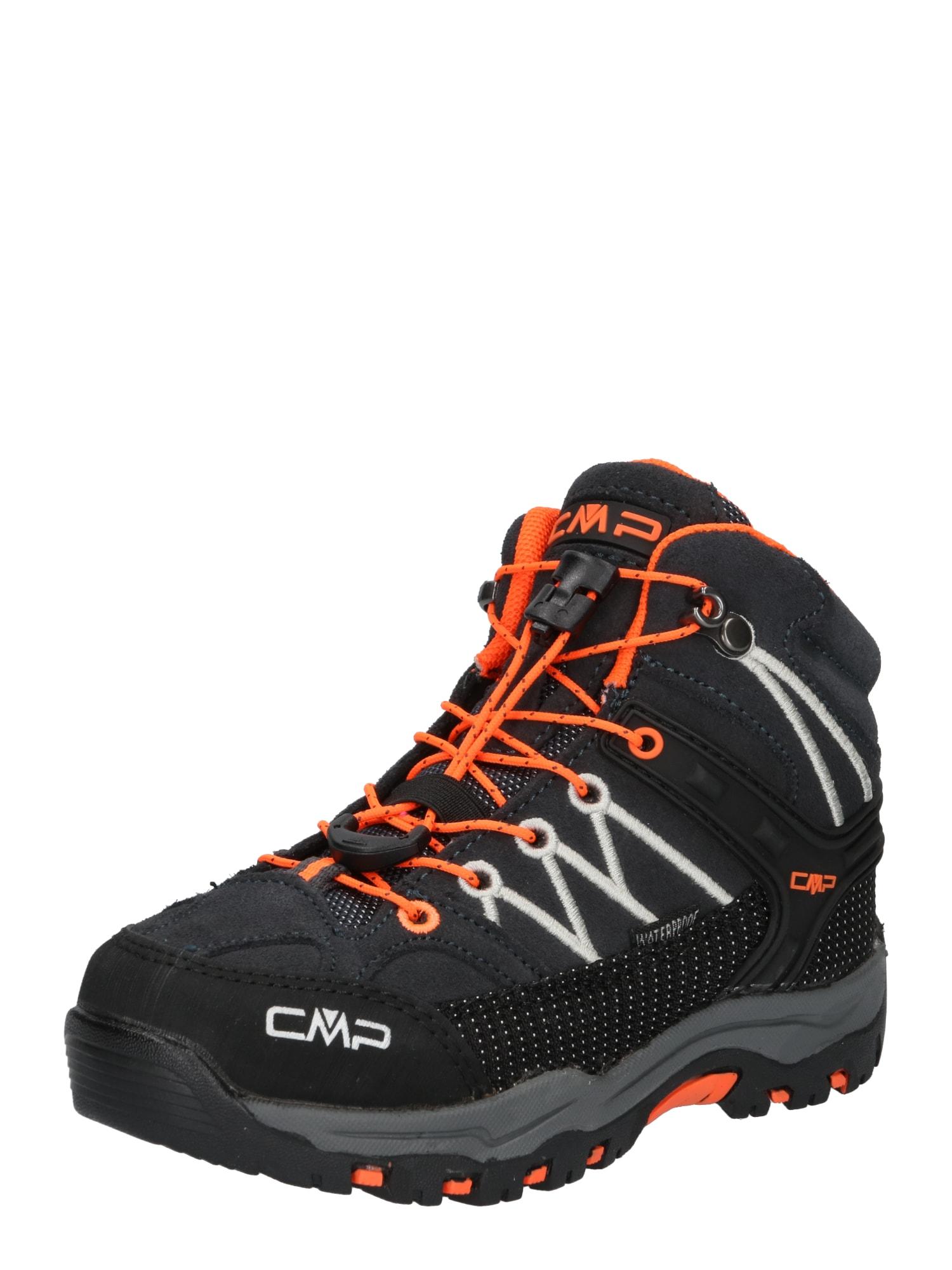 CMP Auliniai batai antracito / oranžinė