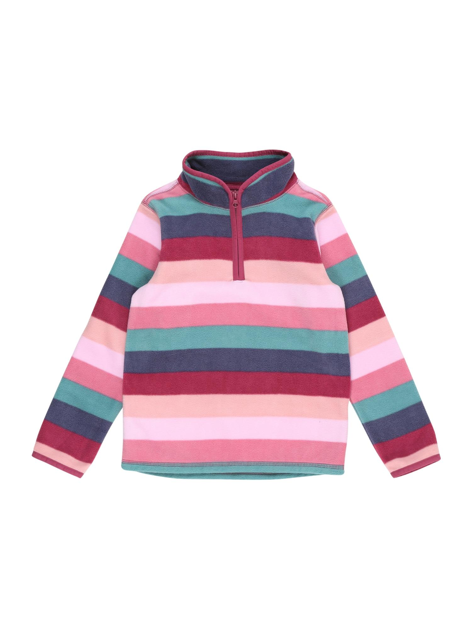 OshKosh Megztinis be užsegimo rožinė / mėlyna / raudona