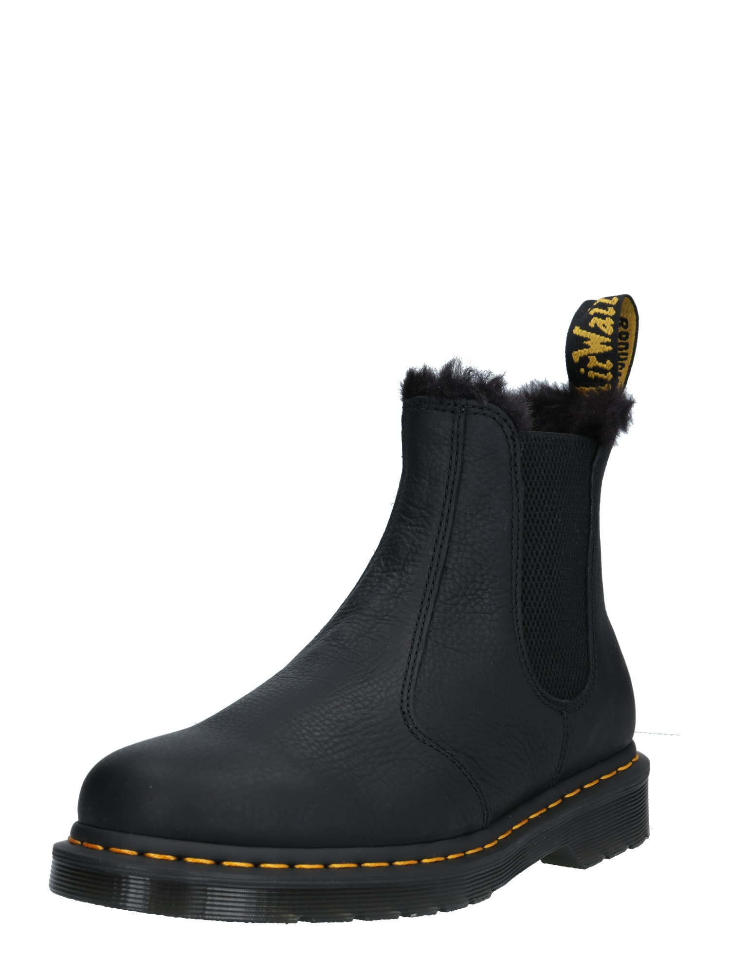 "Dr. Martens ""Chelsea"" batai juoda / geltona"