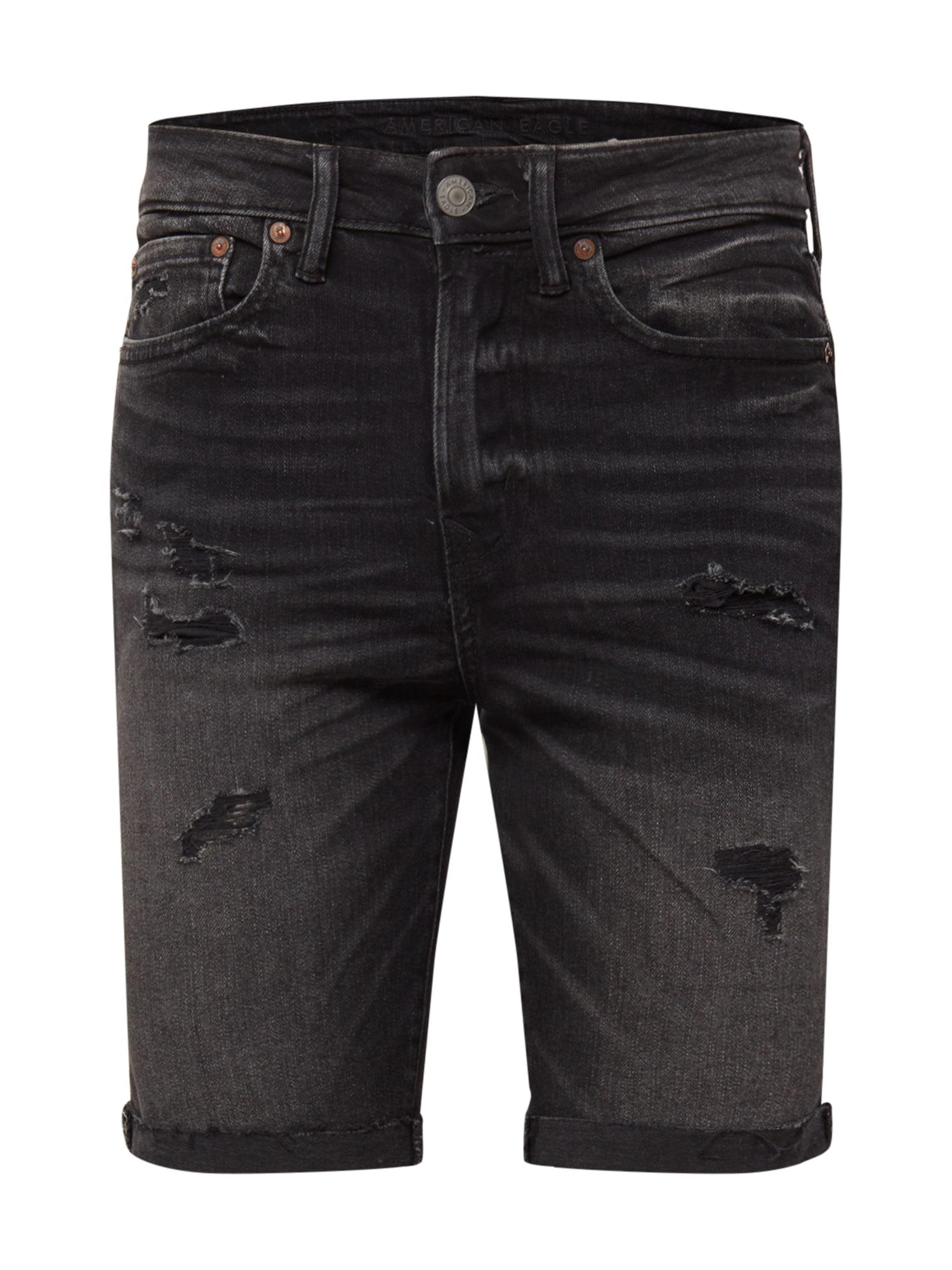American Eagle Džíny  černá